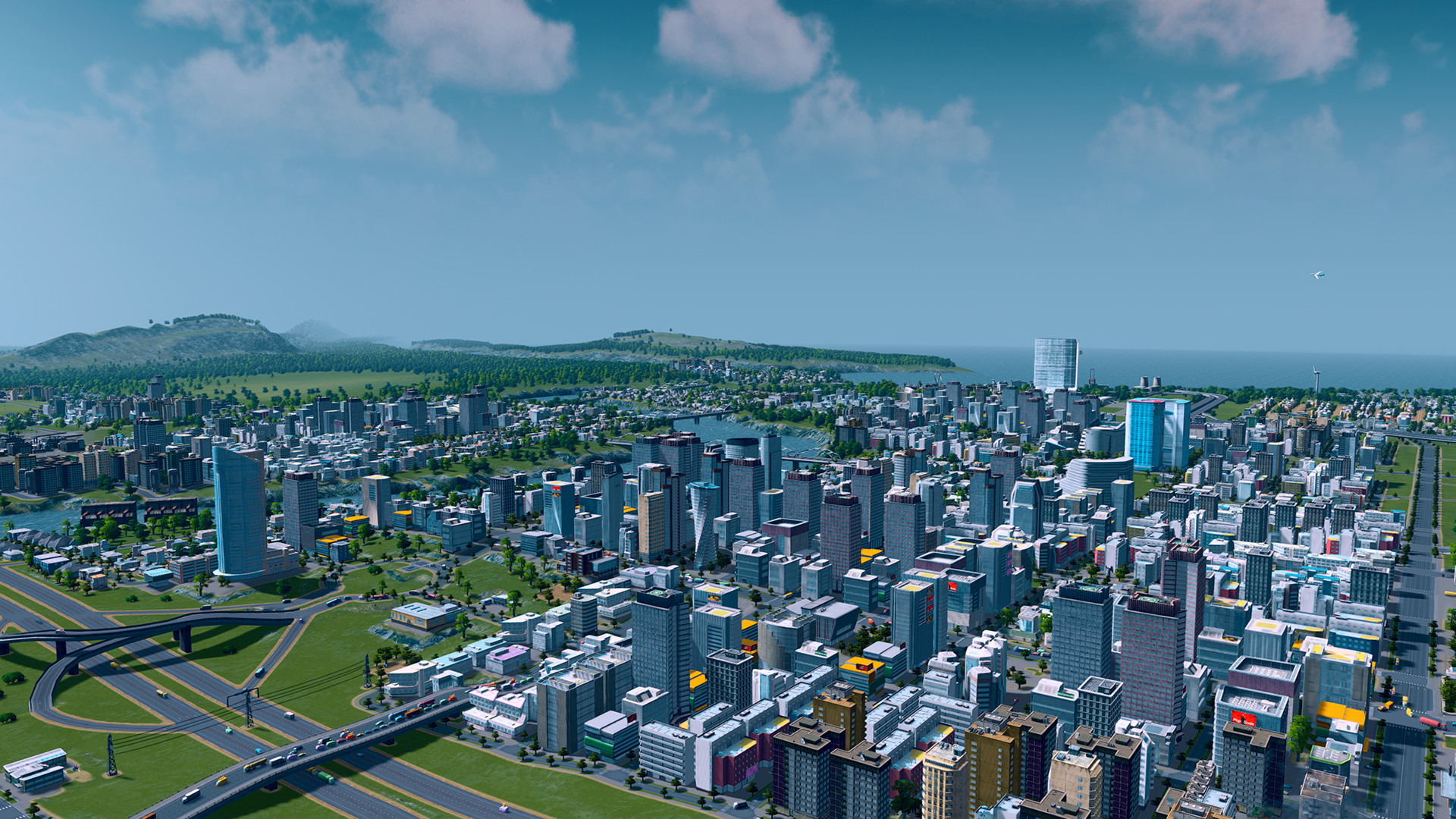 1920x1080 Video Game - Cities: Skylines Wallpaper