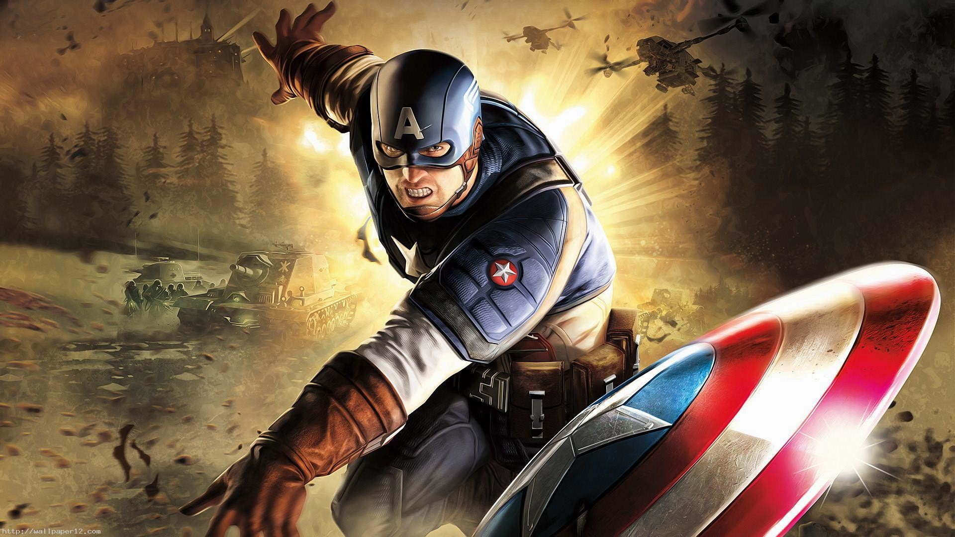 Captain America HD Wallpapers 1080p (80+ images)