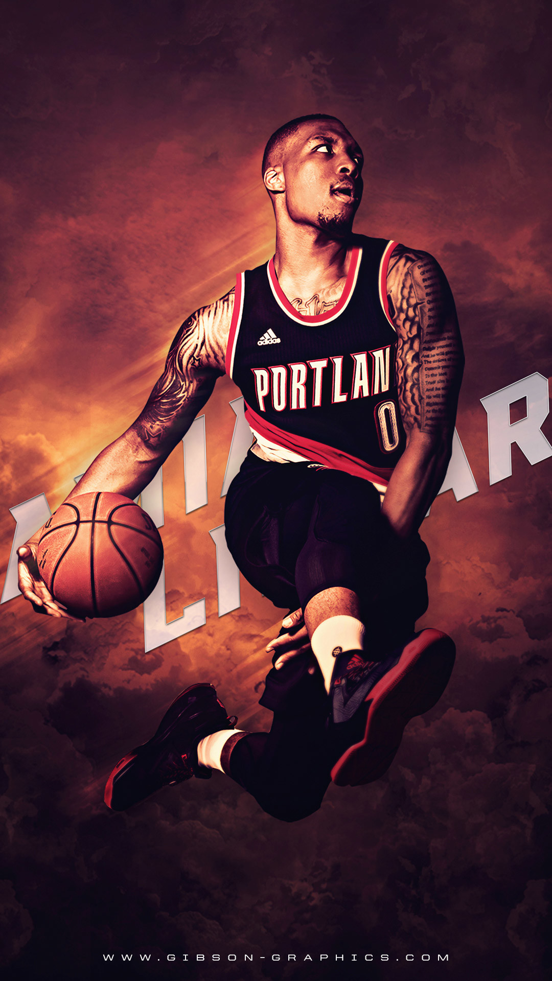 Damian Lillard Wallpaper Iphone 75 Images