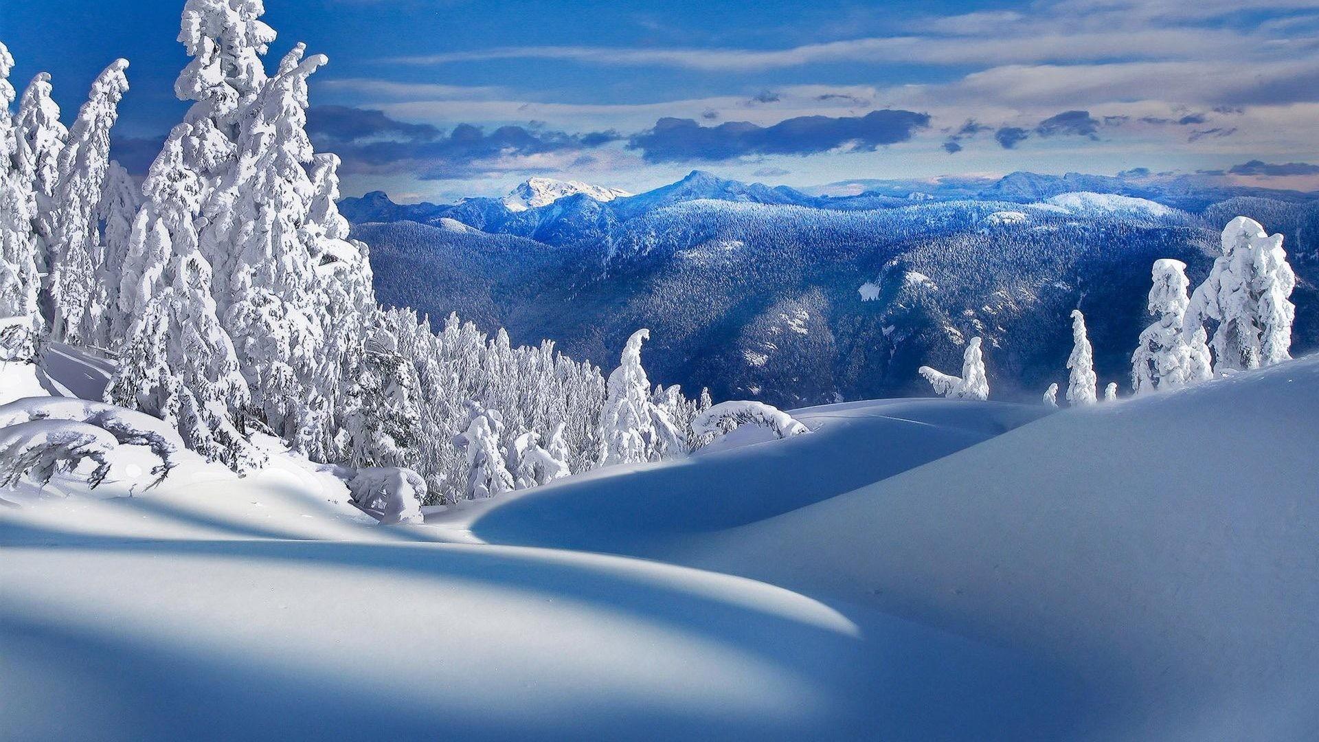 winter nature wallpaper (74+ images)