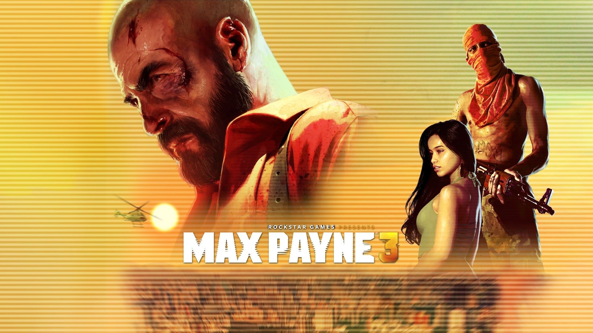 1920x1080 Preview wallpaper max payne 3, max payne, rockstar games, terrorist,  helicopter,