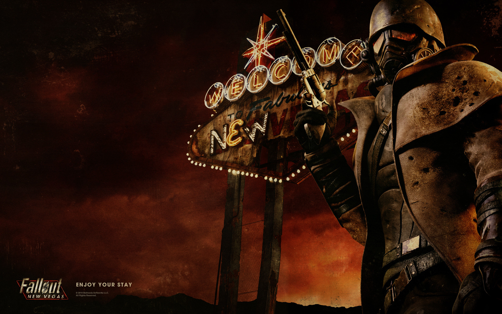 1920x1200 iPhone plus Fallout new vegas Games wallpaper Mask tattoo | HD Wallpapers |  Pinterest | Fallout and Wallpaper