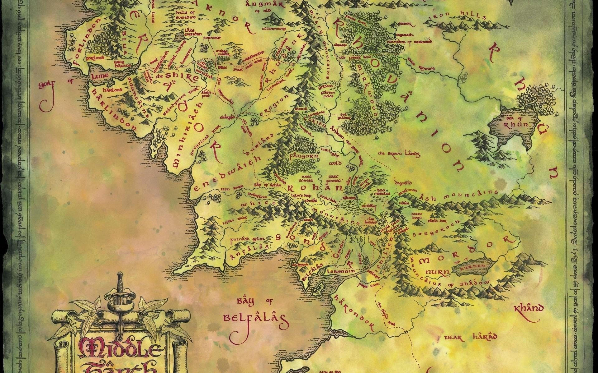 Jrr Tolkien Symbol Wallpaper