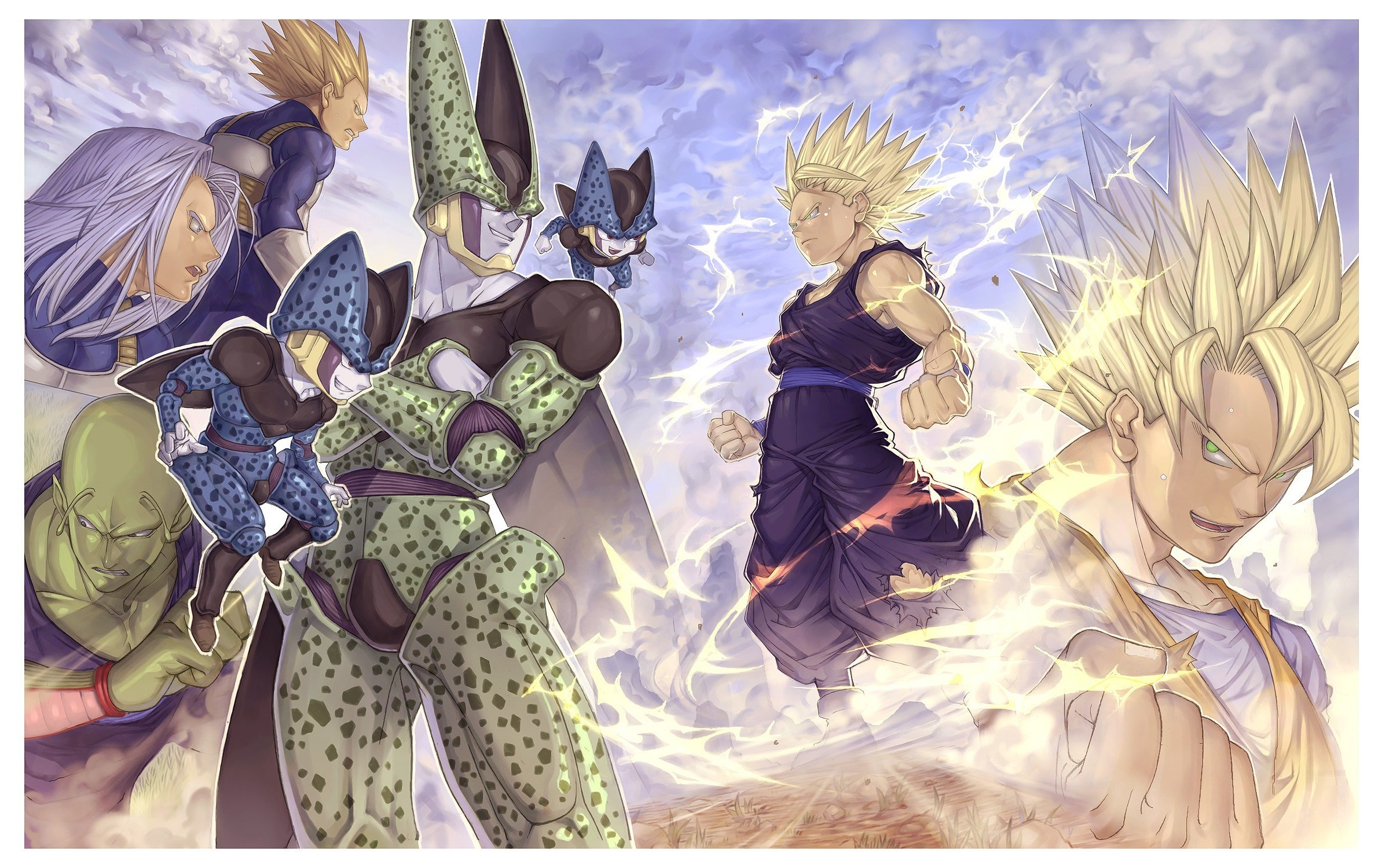 Dragon ball z trunks wallpaper 66 images - Vegeta wallpapers for mobile ...