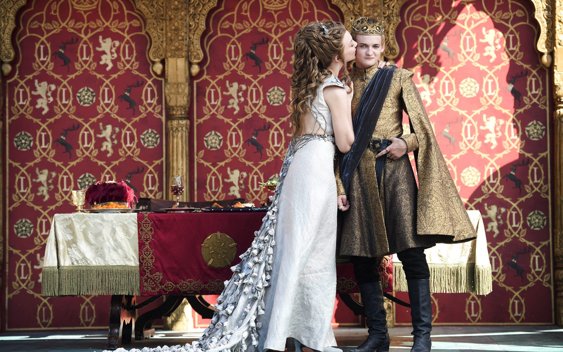1920x1200 Joffrey and Margaery - Game of Thrones wallpaper  jpg