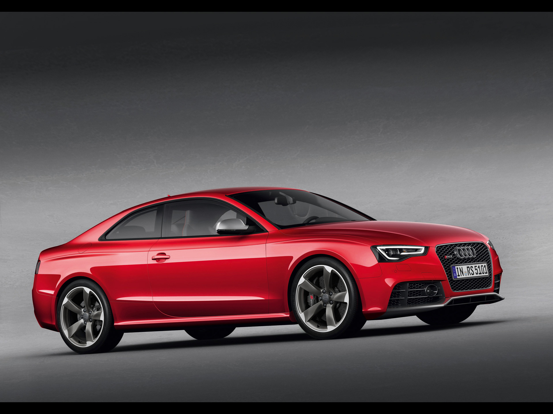 Elegant 1920x1080 Audi RS5 Tuning Front Fire Car 2014 HD