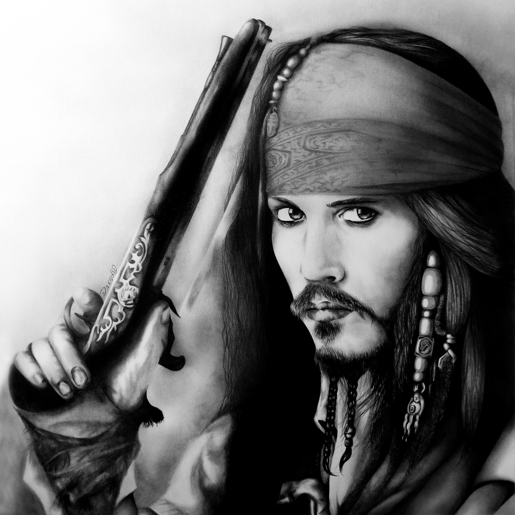 Pirates Of The Caribbean Wallpaper Hd: Captain Jack Sparrow Wallpaper (53+ Images