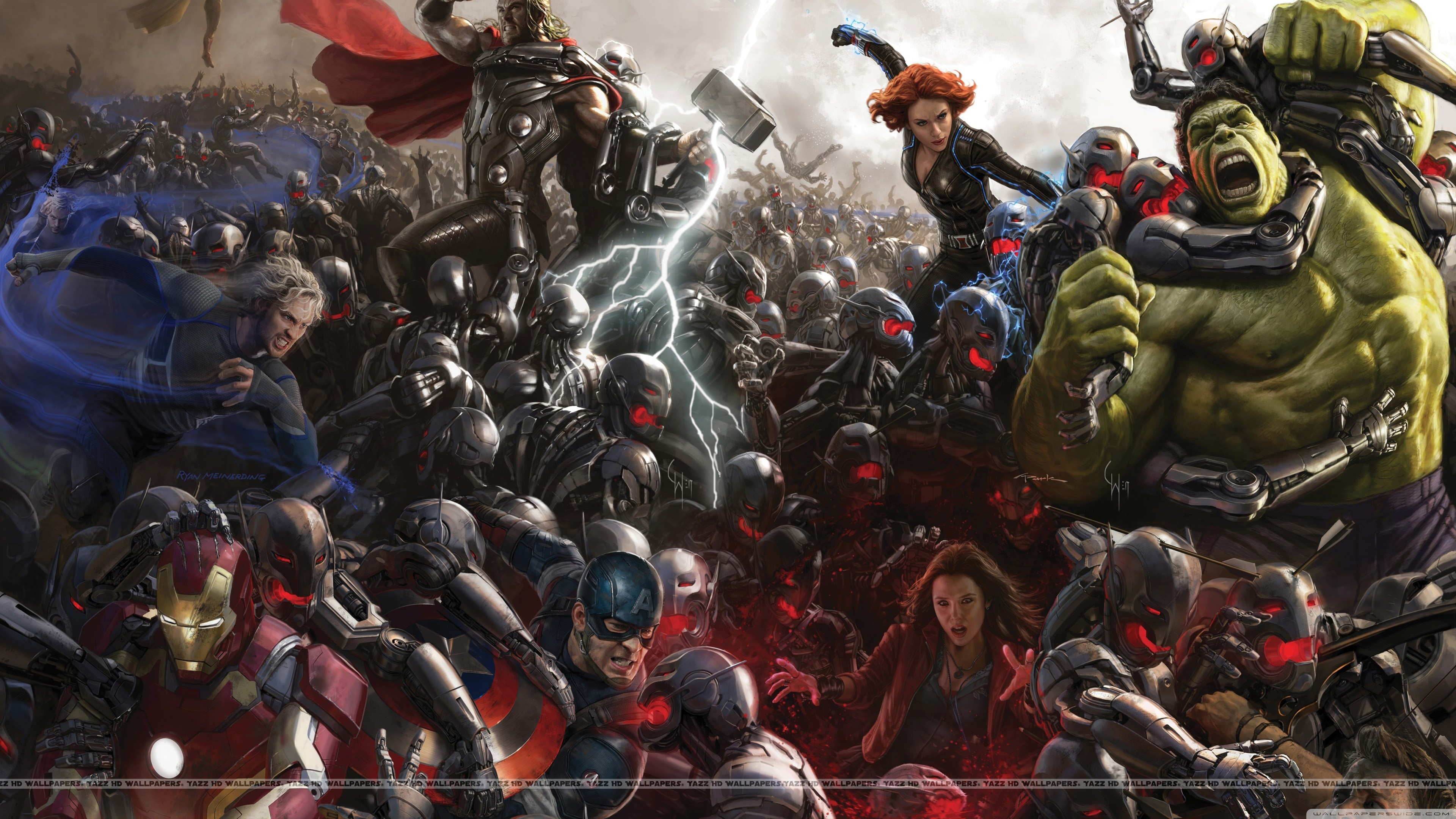 3840x2160 Avengers Age of Ultron 4K HD Wide Wallpaper for 4K UHD Widescreen desktop &  smartphone