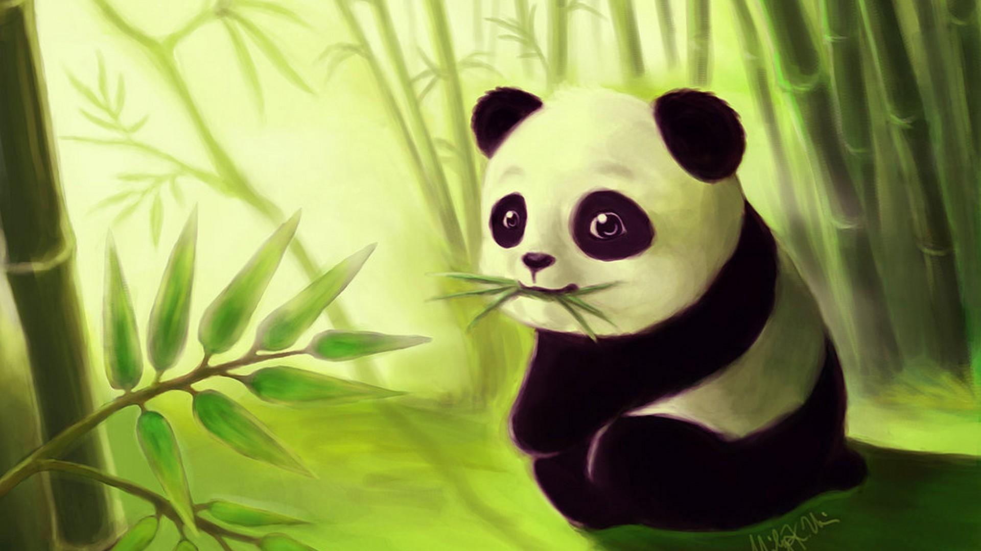 Cute Panda Wallpaper 80 Images