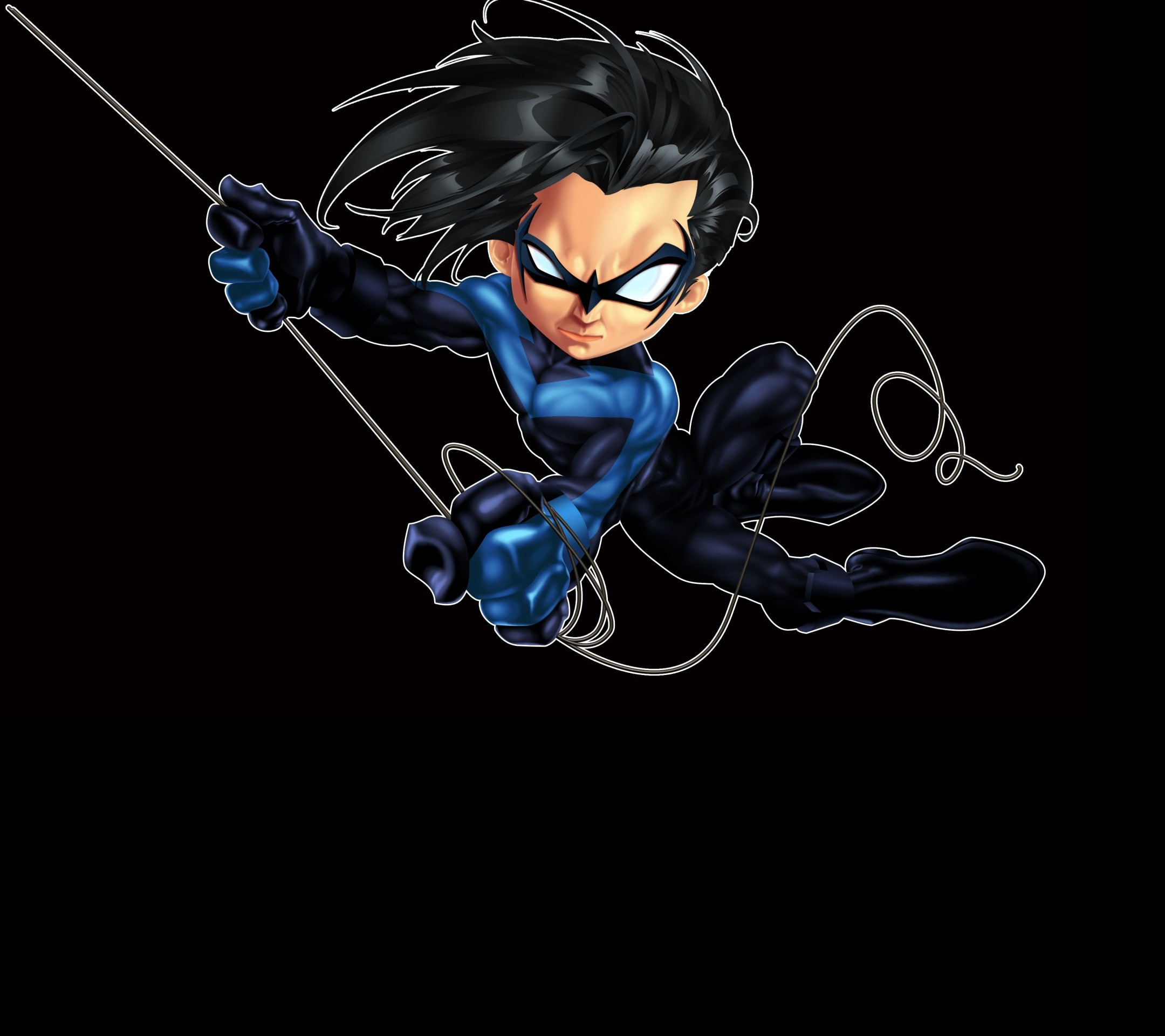 2160x1920 Downloadable Phone Wallpapers IPhone Tablet HD Nightwing Logo