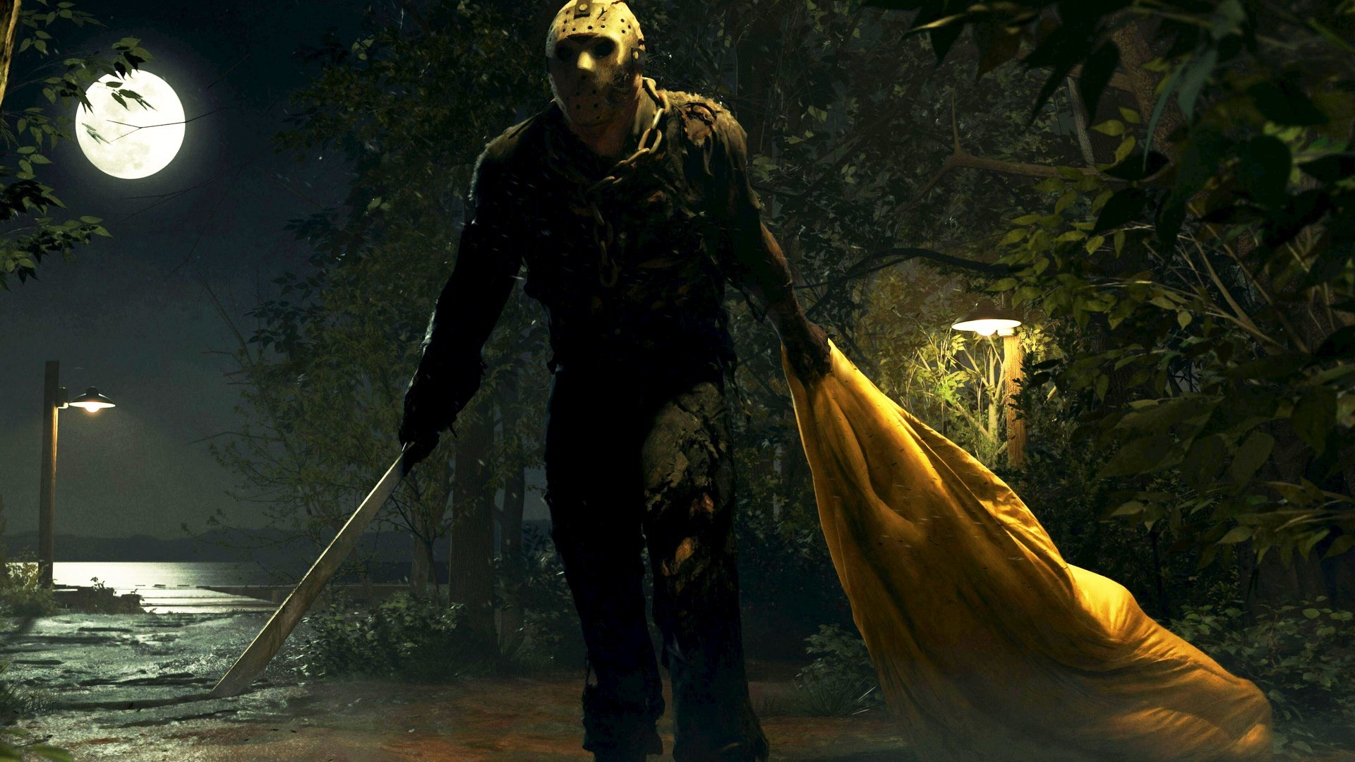 1920x1080 Friday the 13th: The Game HD Wallpapers