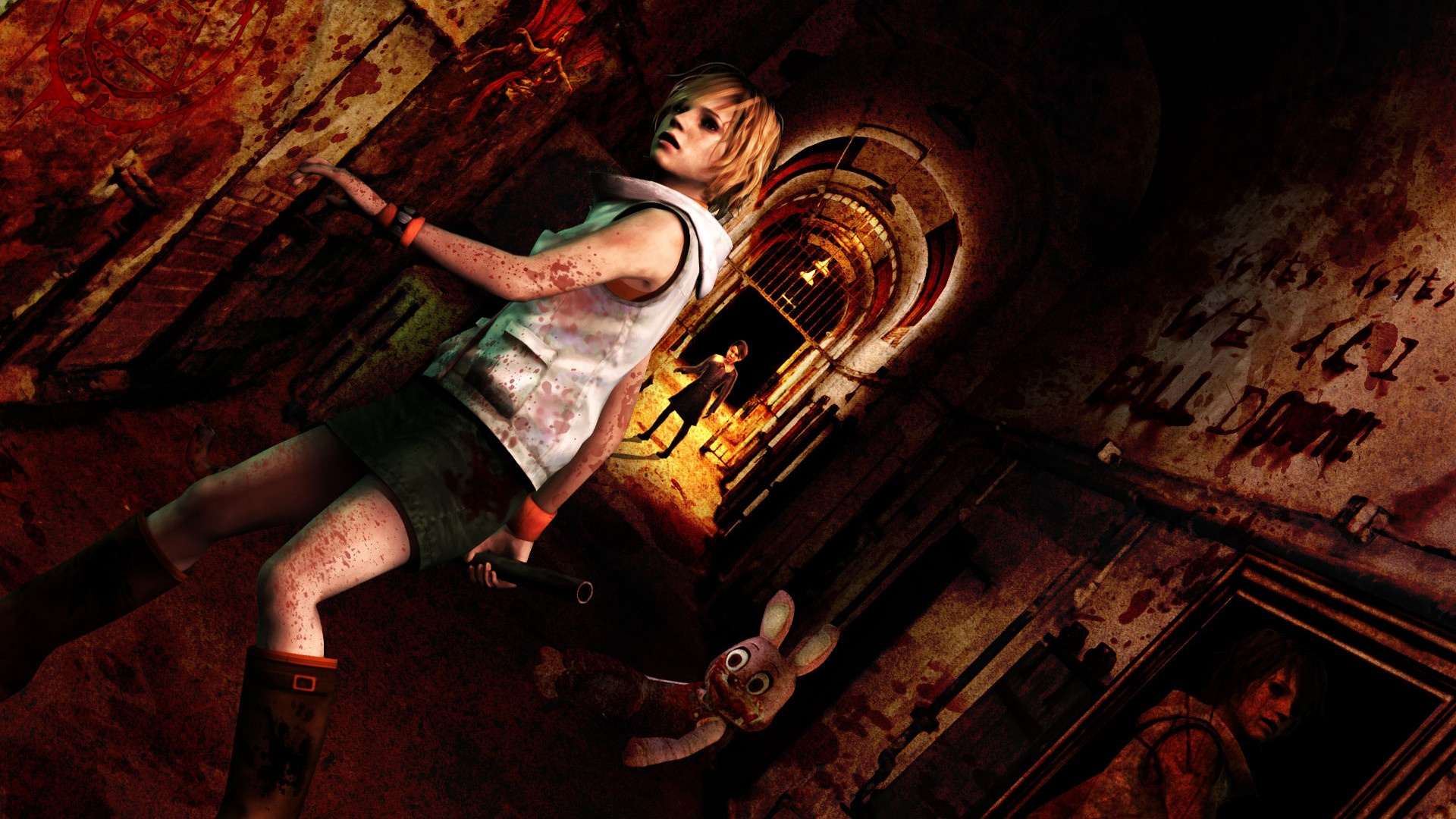 1920x1080 Video Game - Silent Hill 3 Silent Hill Horror Creepy Spooky Scary Wallpaper