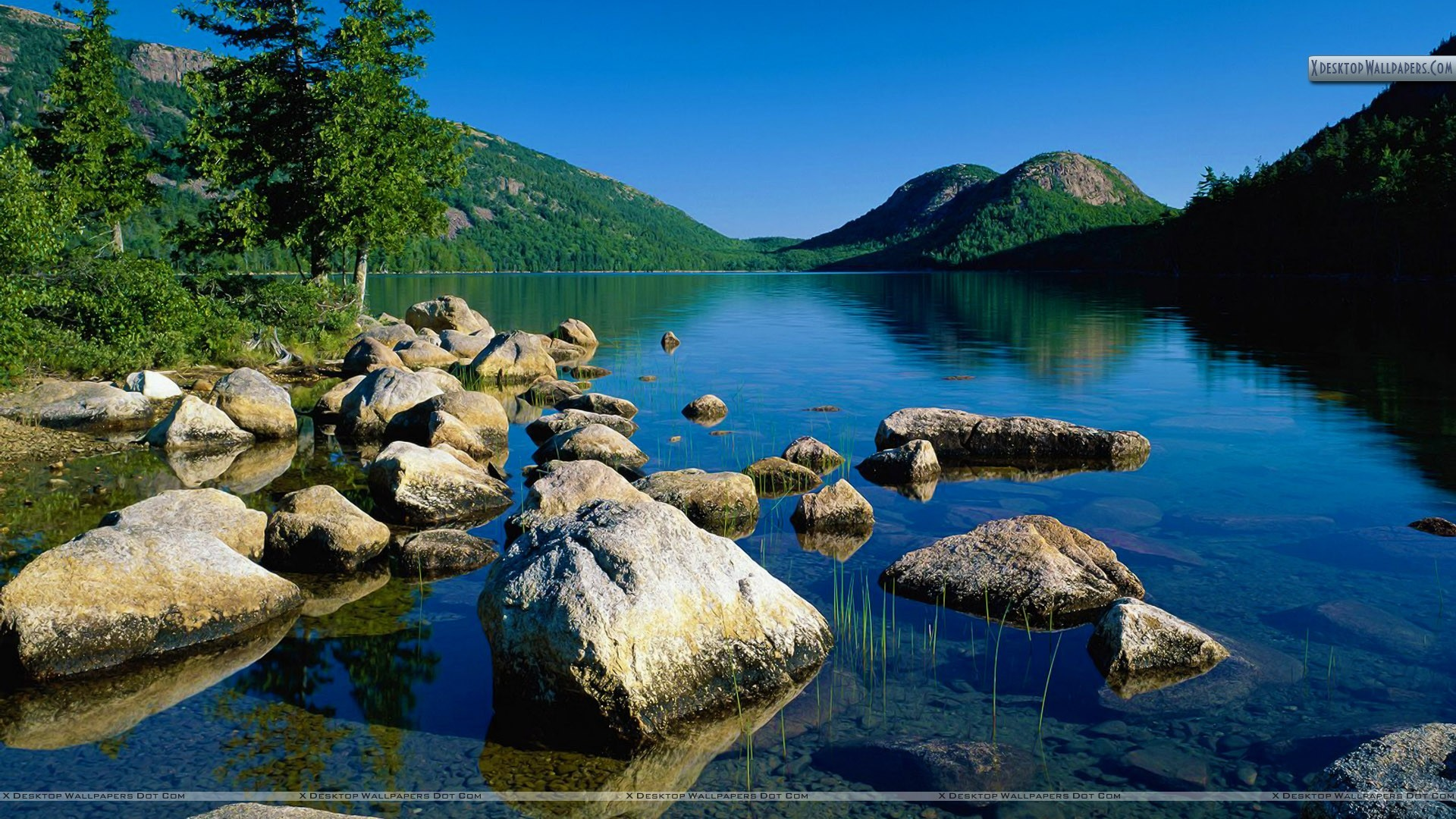 "1920x1080 You are viewing wallpaper titled ""Jordan Pond ..."