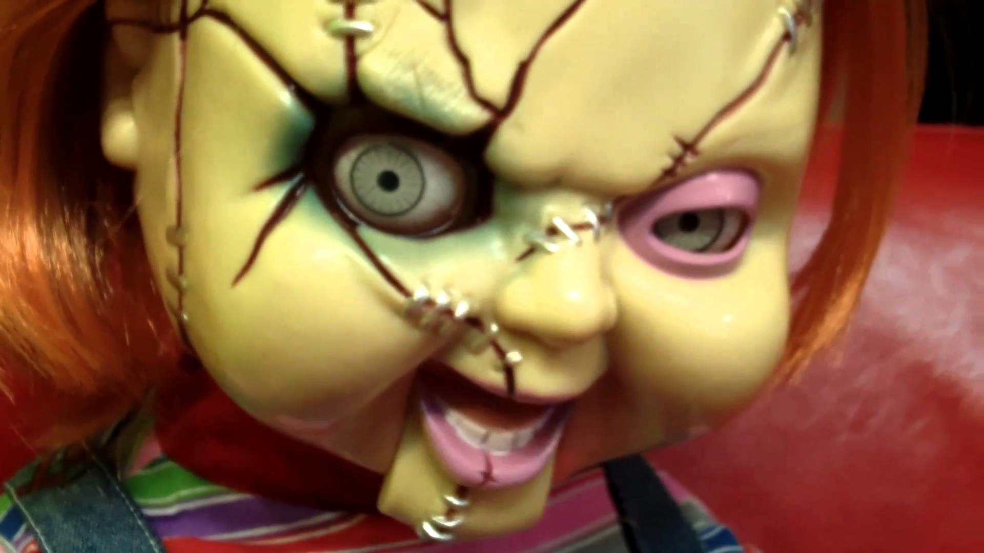 1920x1080 Chucky SCARY Animated Life-Size Talking Doll by Mike Mozart of  TheToyChannel - YouTube