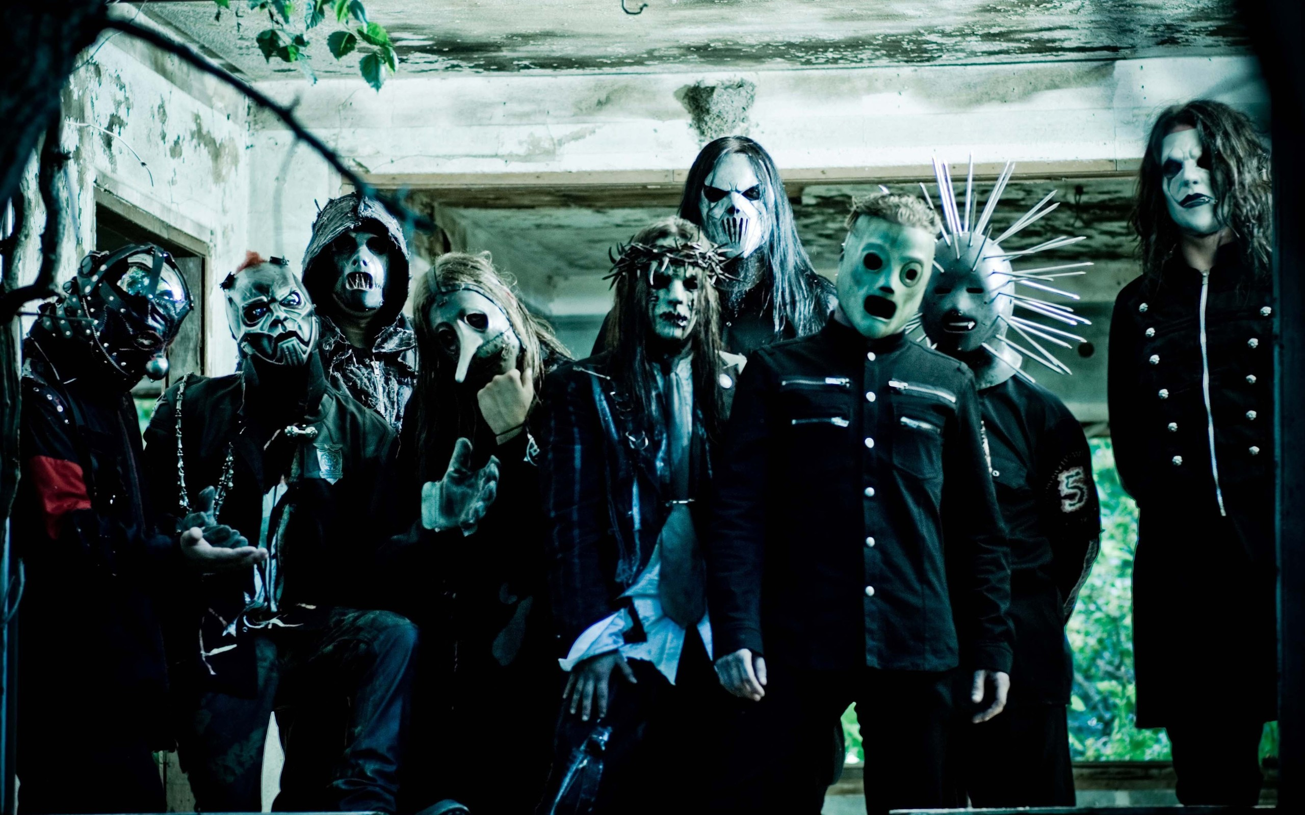 2560x1600 Music - Slipknot Nu Metal Industrial Metal Heavy Metal Wallpaper