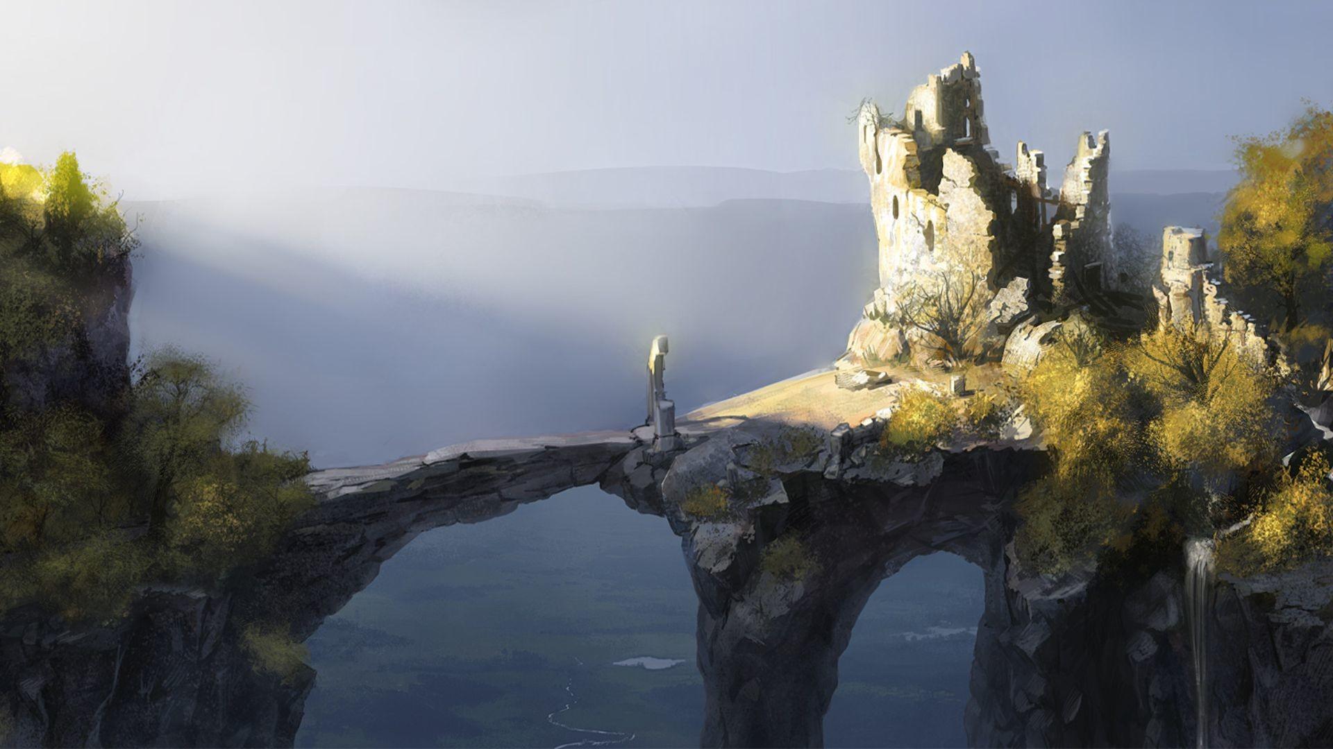 Surreal wallpapers 74 images - Fantasy wallpaper bridge ...