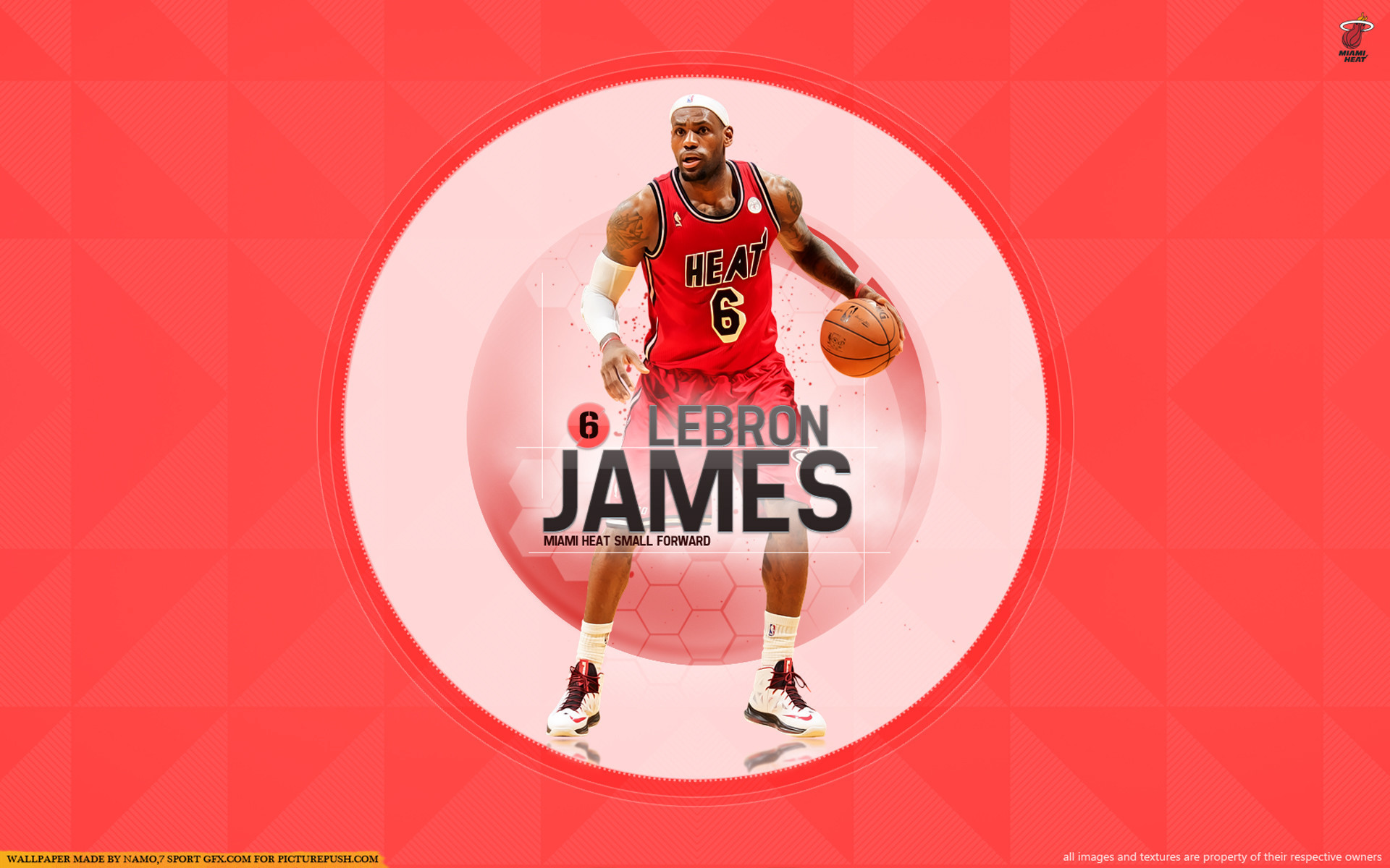 1920x1200 Lebron James Miami Heat Wallpapers Download Free
