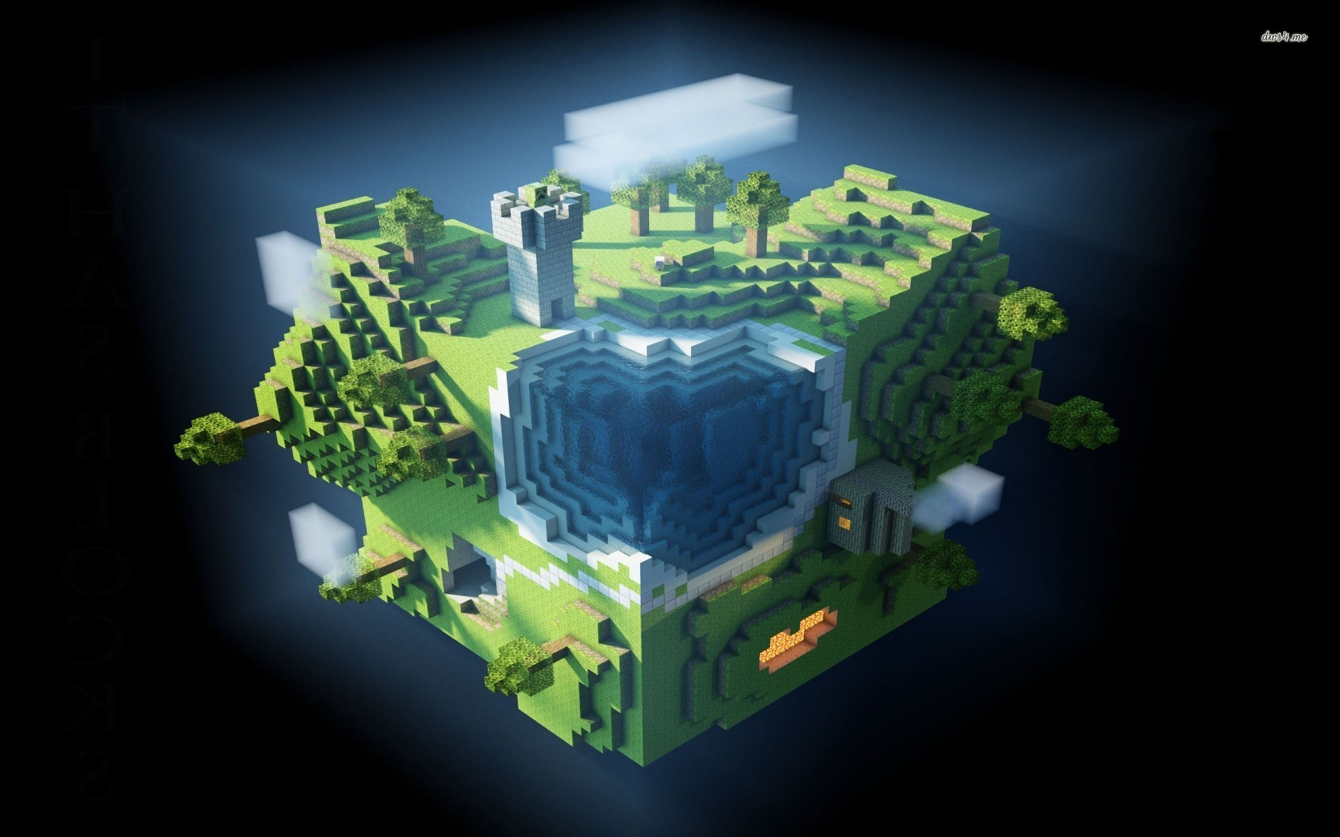 1920x1200 Collection Moving Desktop Backgrounds Minecraft ...