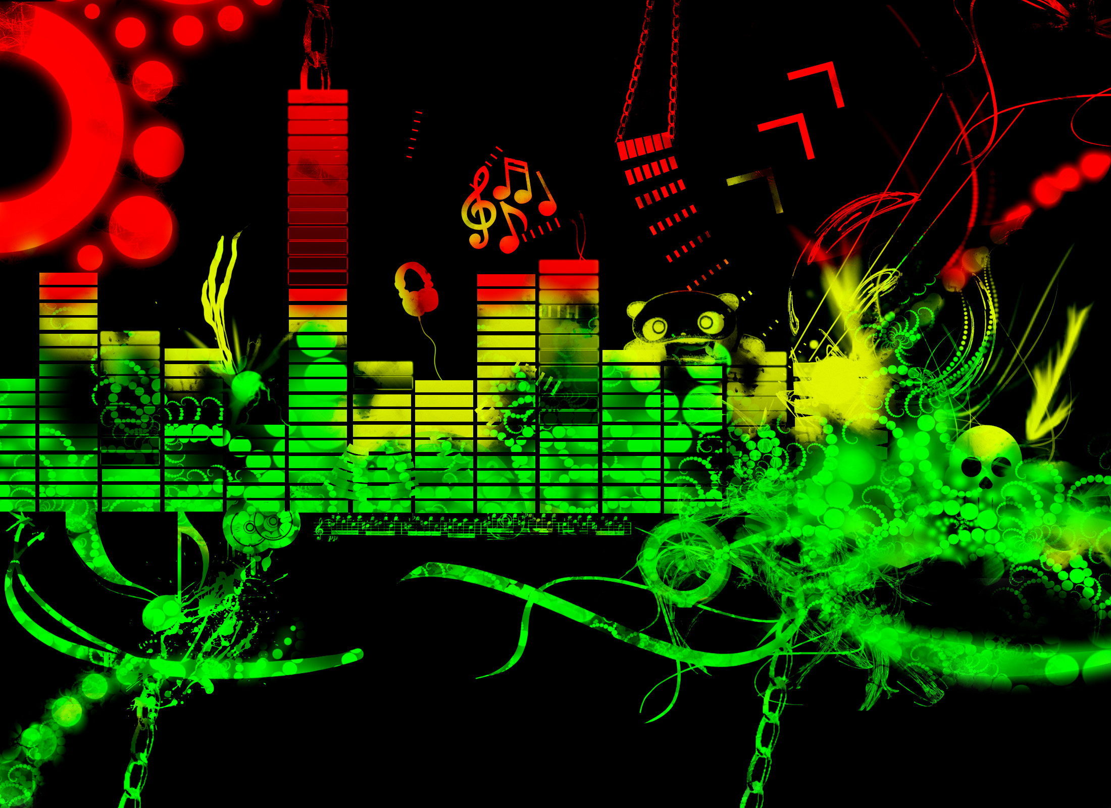 Electro house music wallpaper 64 images for Musik hause
