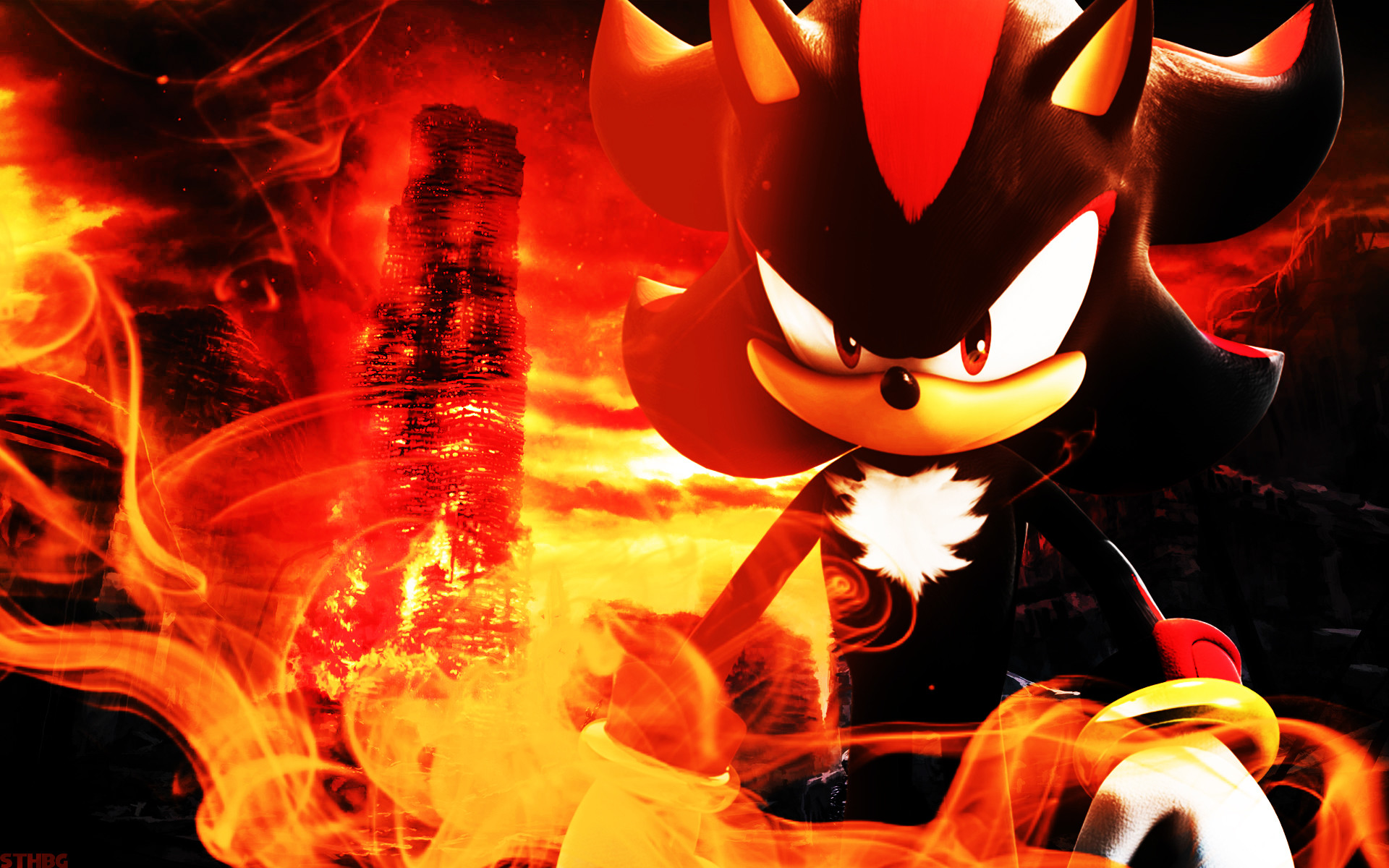1920x1200 Shadow The Hedgehog Wallpaper Hd Shadow the hedgehog