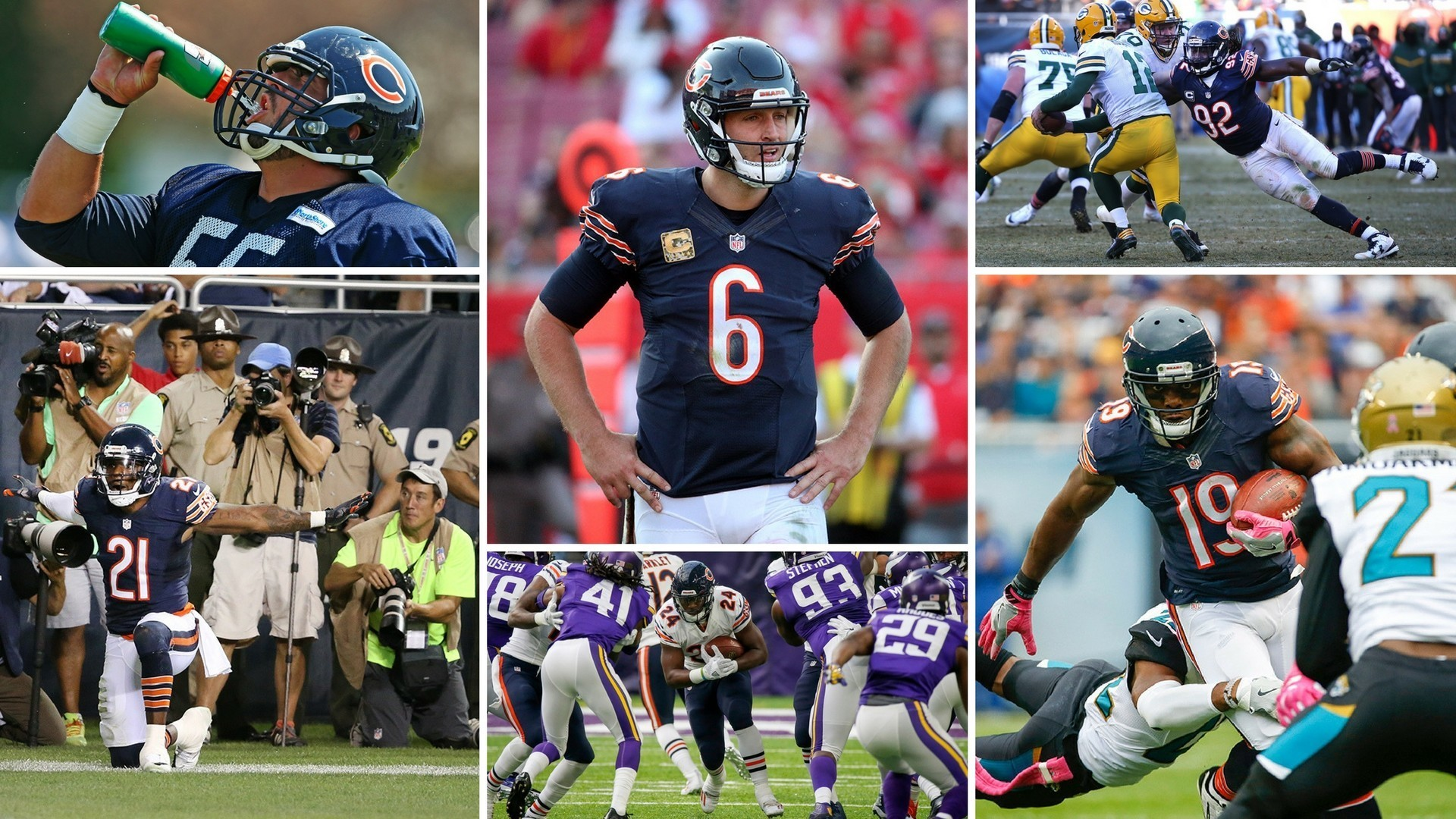 1920x1080 Quiz: Who's on the Chicago Bears roster?