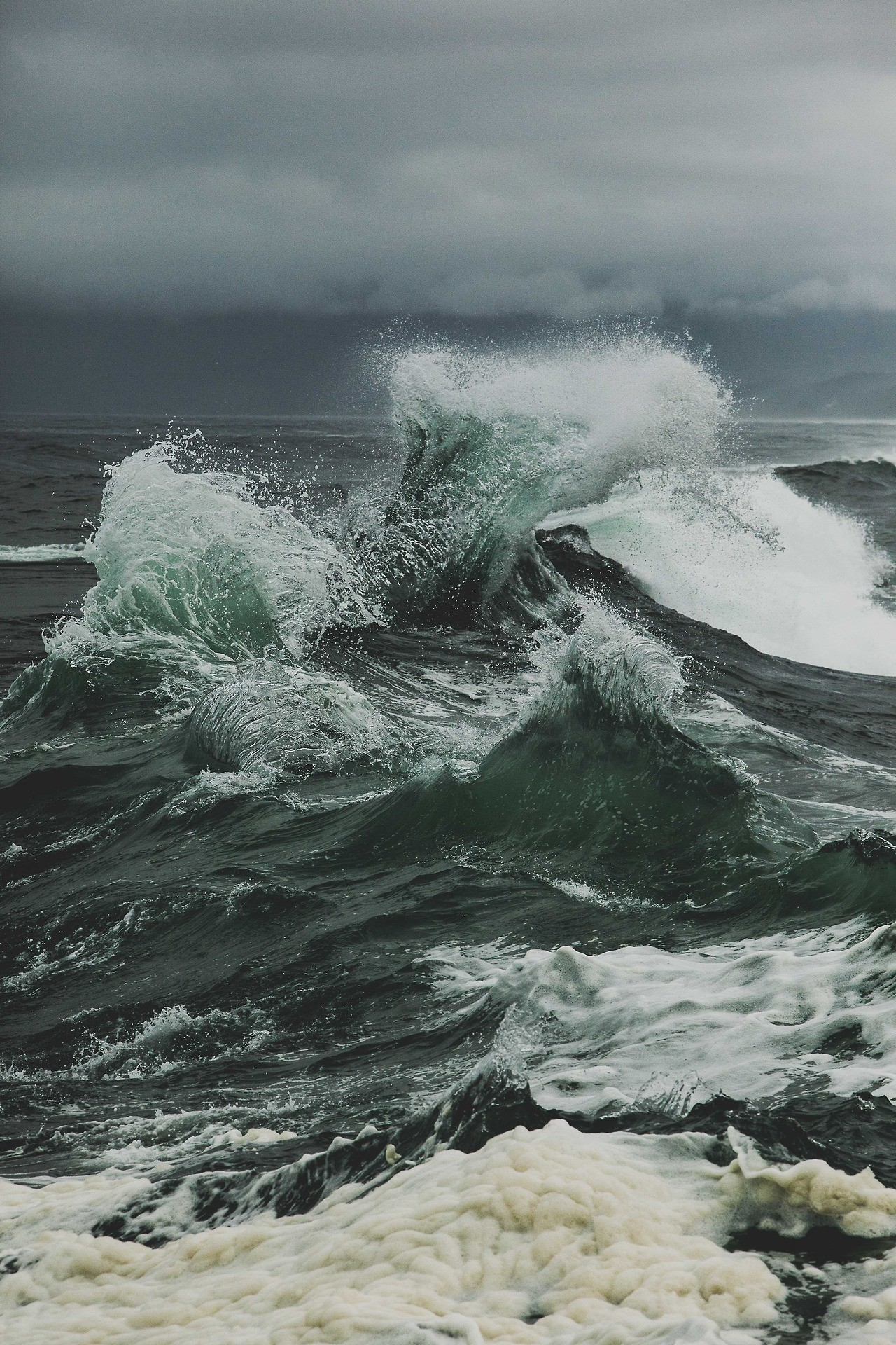 1280x1920 Cape Kiwanda, OR - photograph by This Normal Life. Sea StormSea Photography Stormy ...