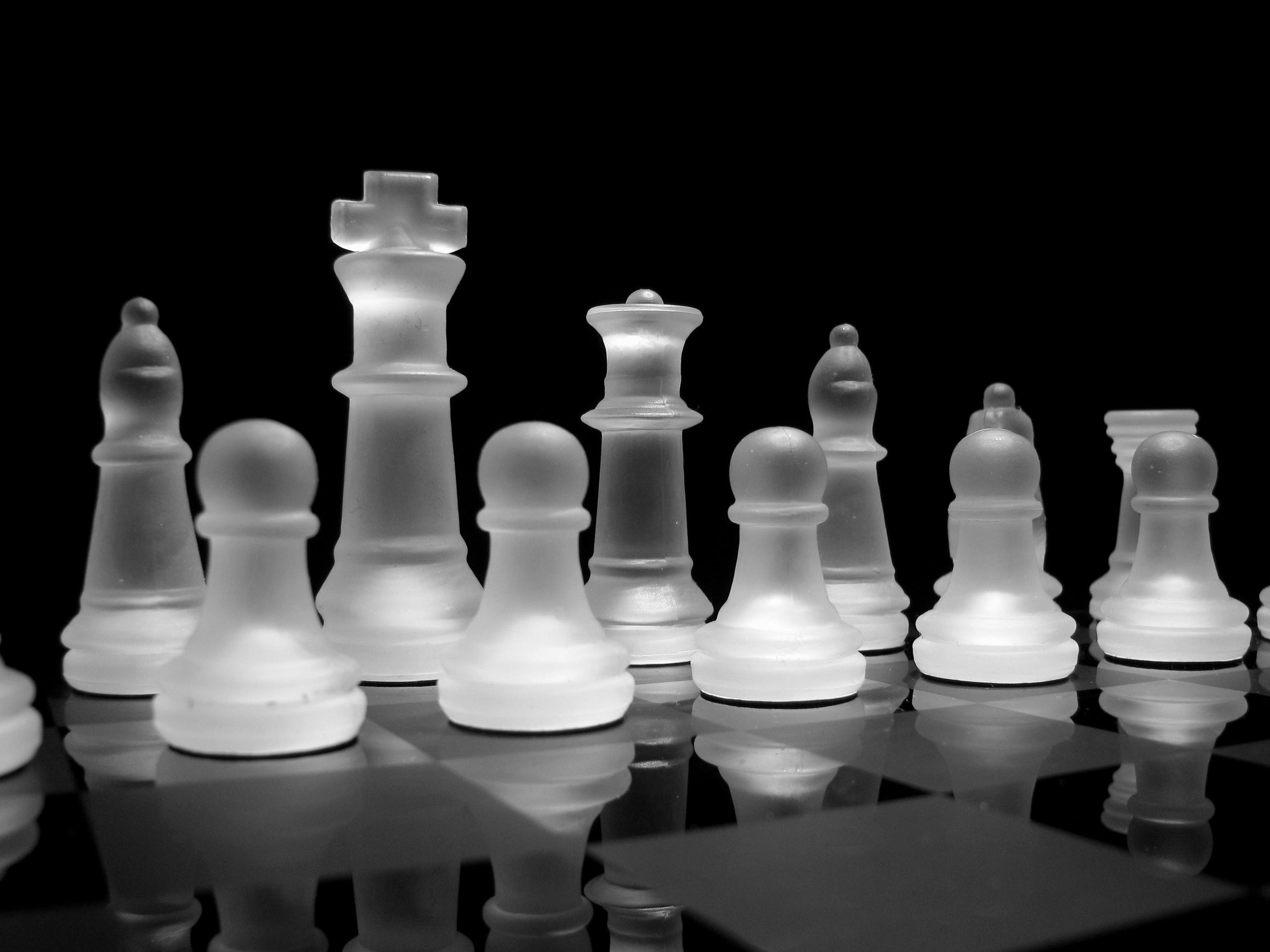 1920x1080 Wallpaper Chess Pieces Fighting Board