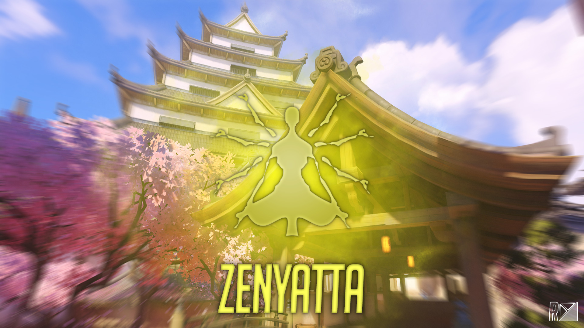 1920x1080 Zenyatta Ultimate Wallpaper Text by ruanes97 Zenyatta Ultimate Wallpaper  Text by ruanes97