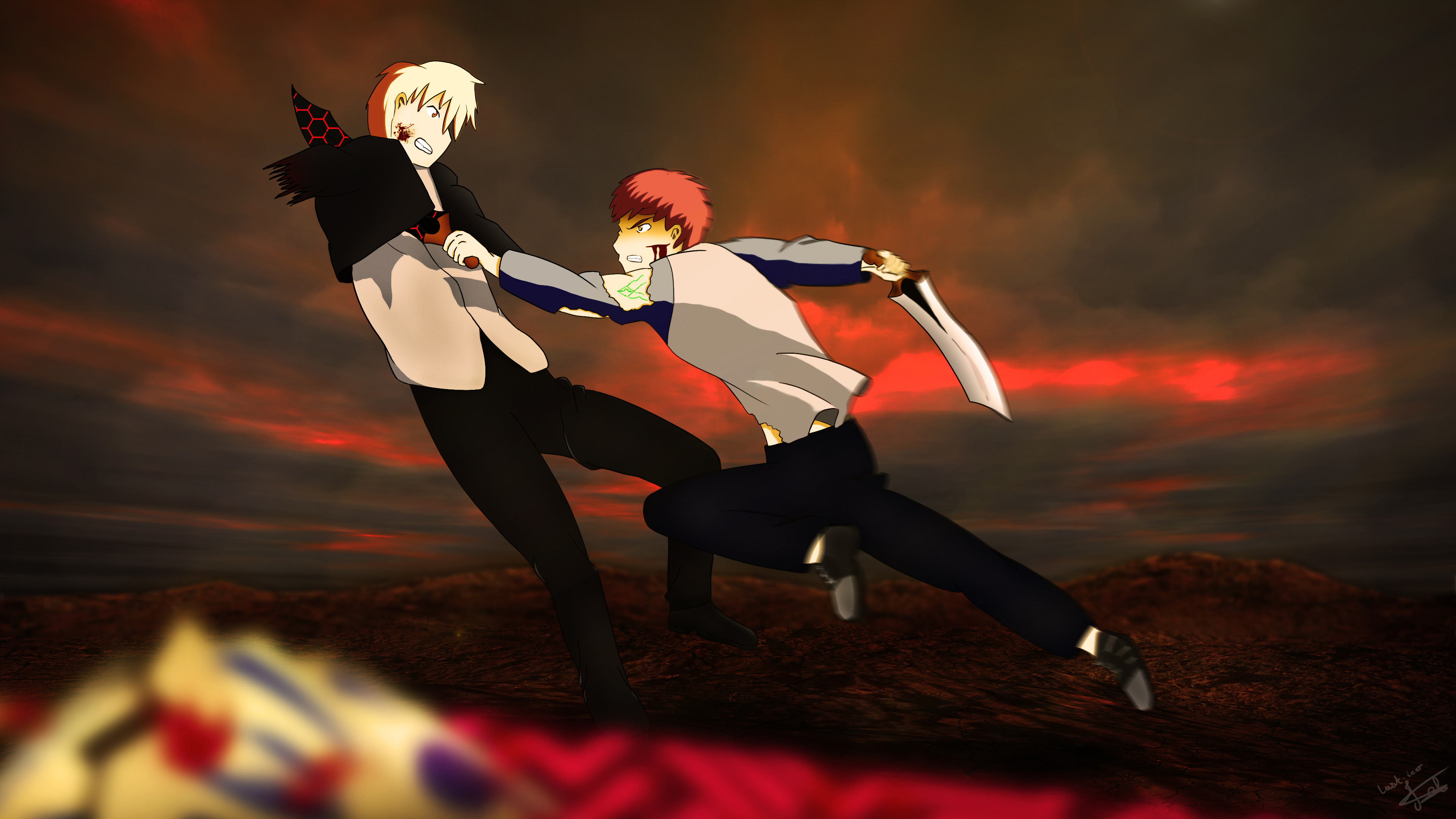 3840x2160 Anime Fate/Stay Night: Unlimited Blade Works Fate/Stay Night Unlimited .