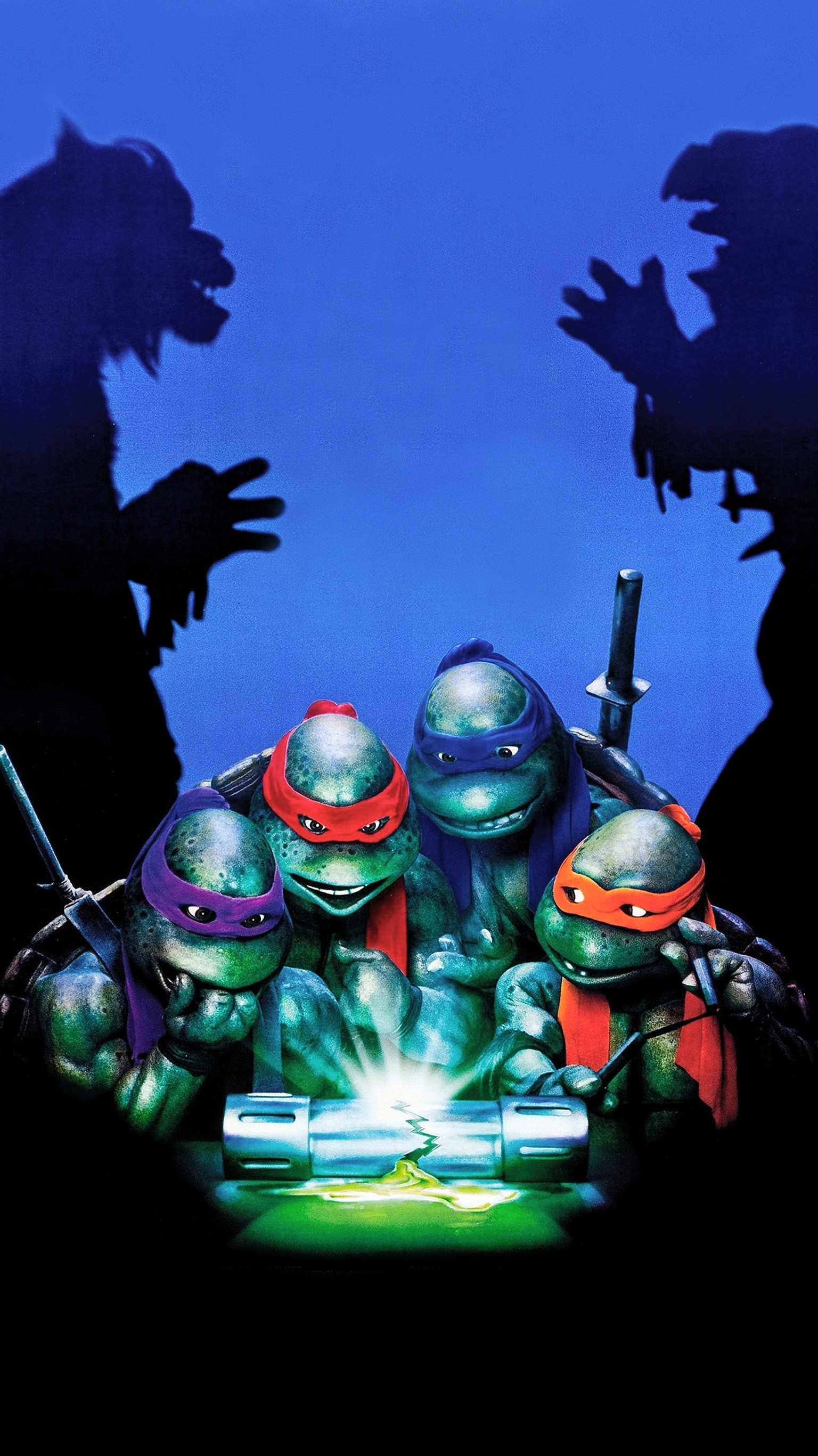 1536x2733 Teenage Mutant Ninja Turtles II: The Secret of the Ooze (1991) Phone  Wallpaper