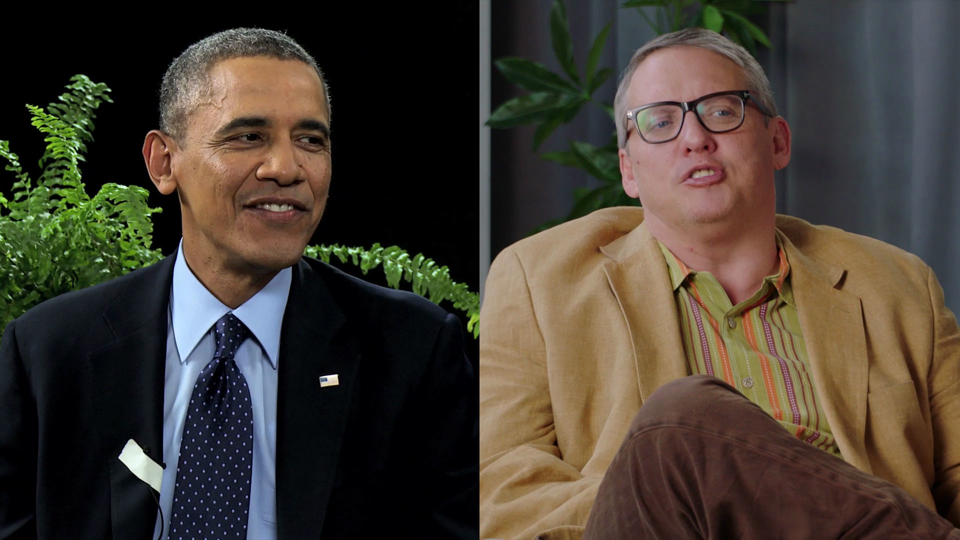 1920x1080 2014: Obama vs Galifianakis - 10 Years of Funny Or Die with Will Ferrell &  Adam McKay