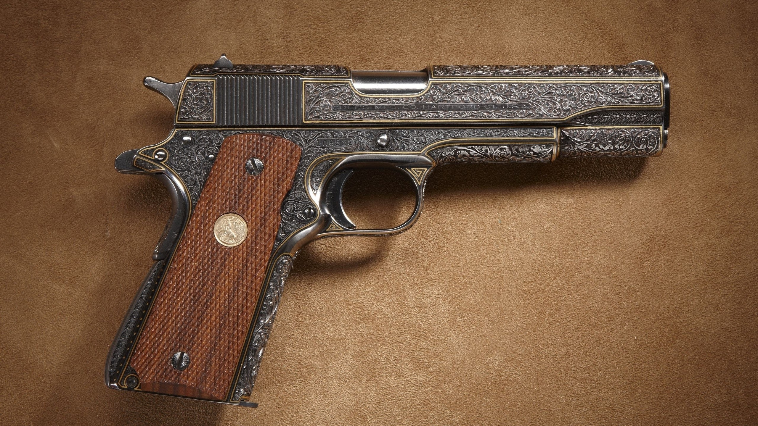 2560x1440 Weapons Guns Colt 1911 ...