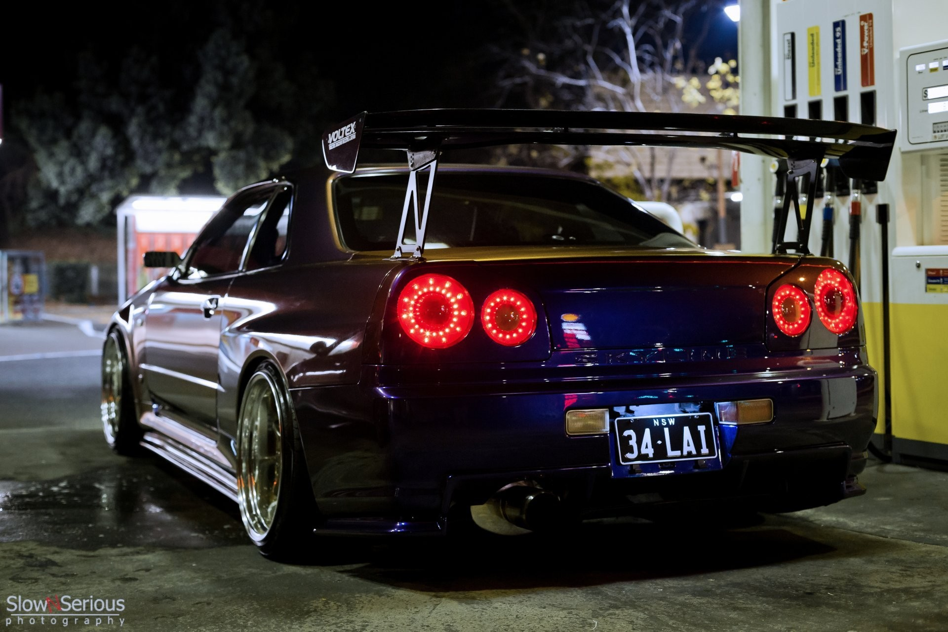 1920x1280 nissan skyline gt-r r34 nissan tuning night skyline