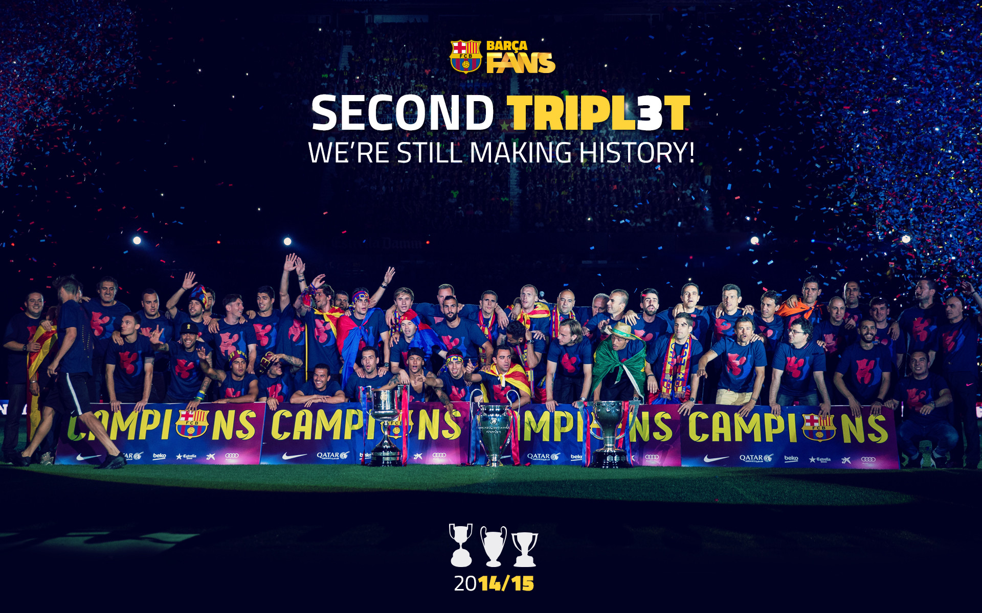 1920x1200 FC Barcelona Wallpapers