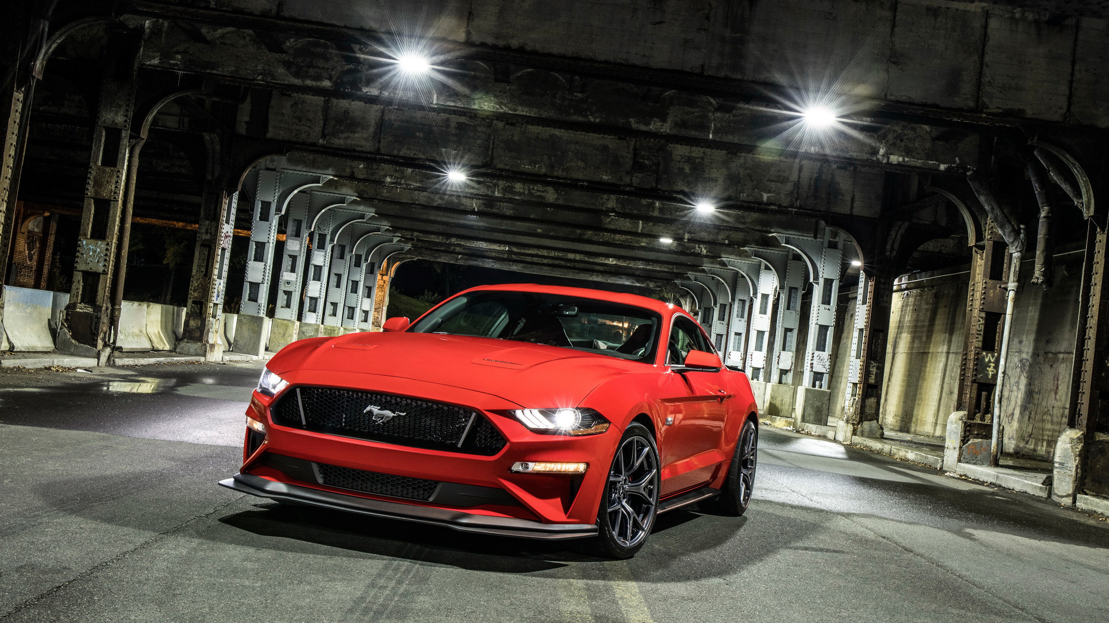 3840x2160 2018 Ford Mustang GT Level 2 Performance Pack 4K 6