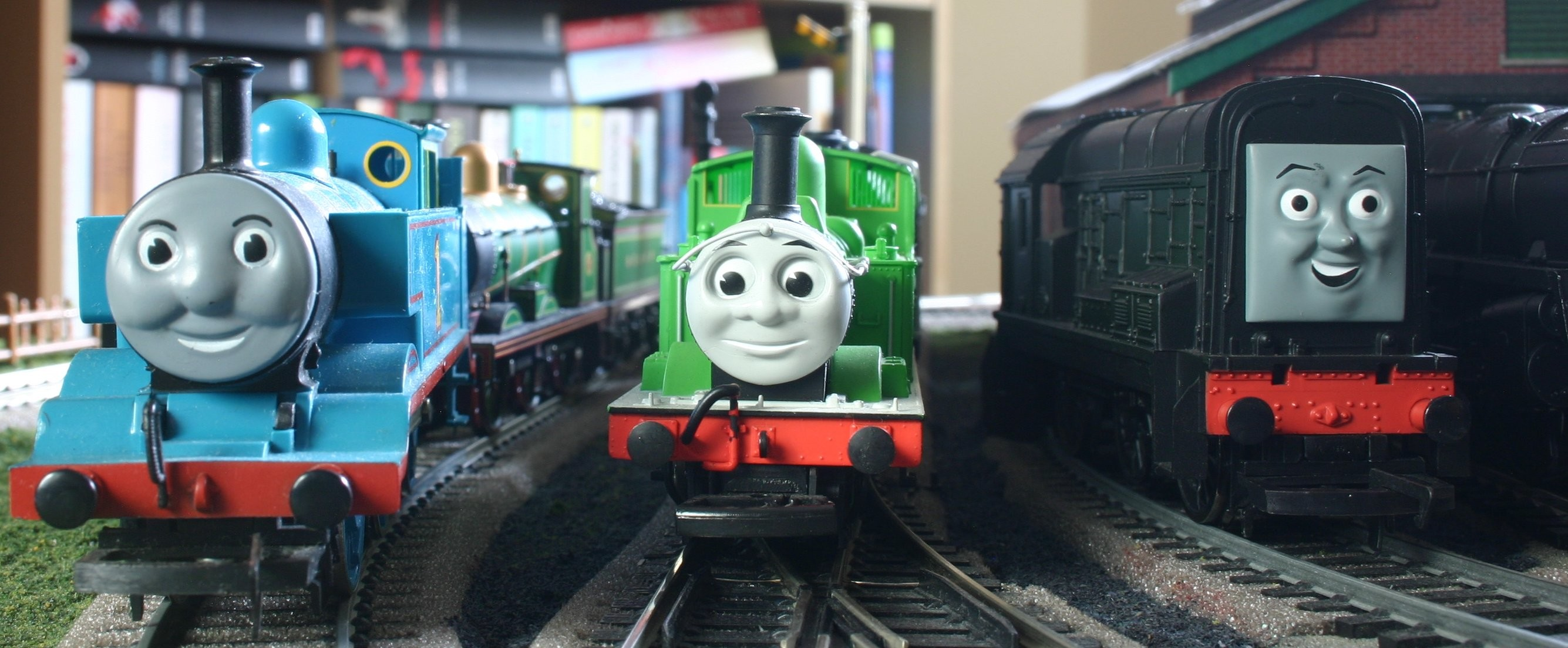 2670x1104 Thomas The Tank Engine & Friends Pics, TV Show Collection