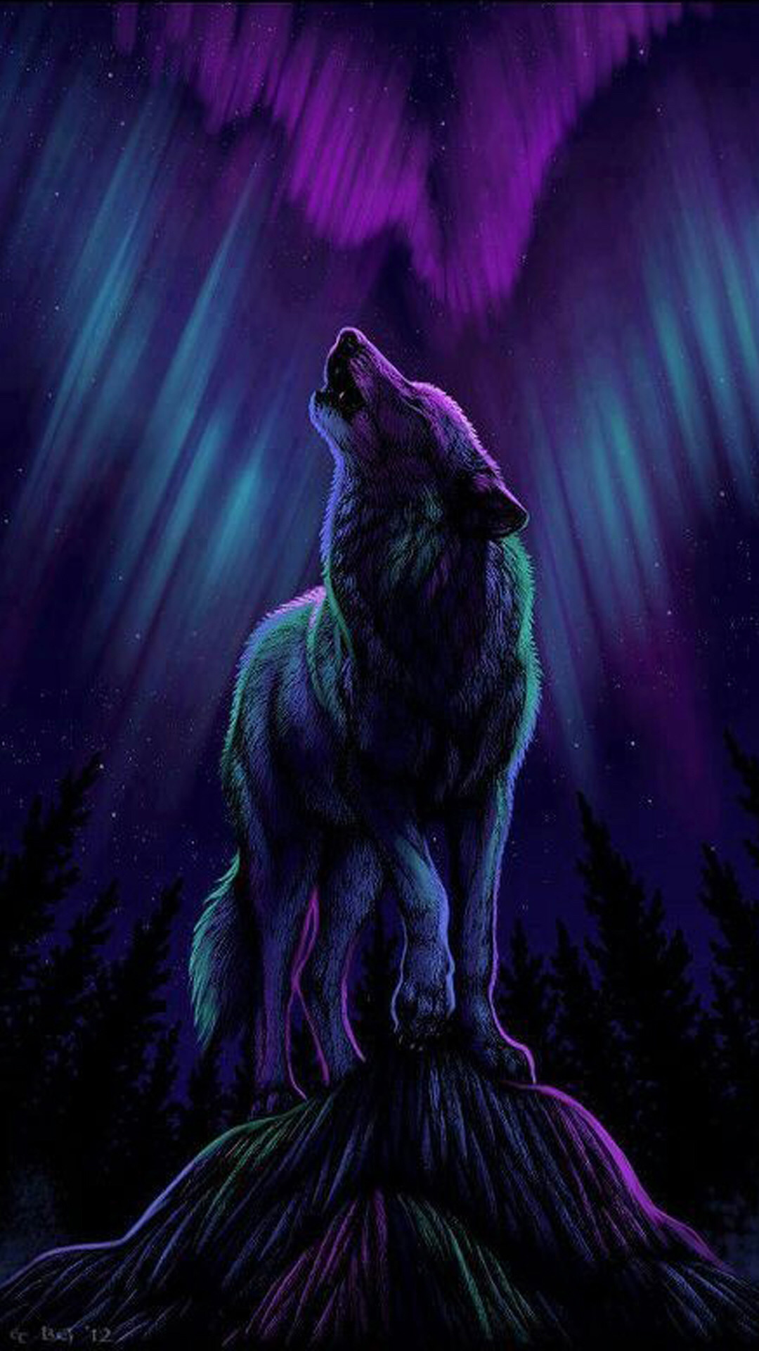 1080x1920 Check out this wallpaper for your iPhone: http://zedge.net/ · Wolves ArtWolf  ...