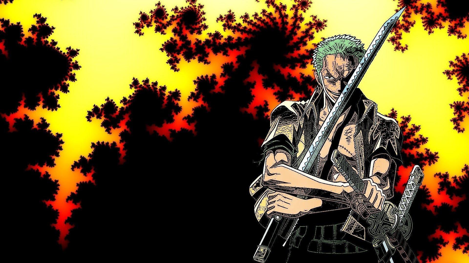 Zoro One Piece Wallpaper 4K