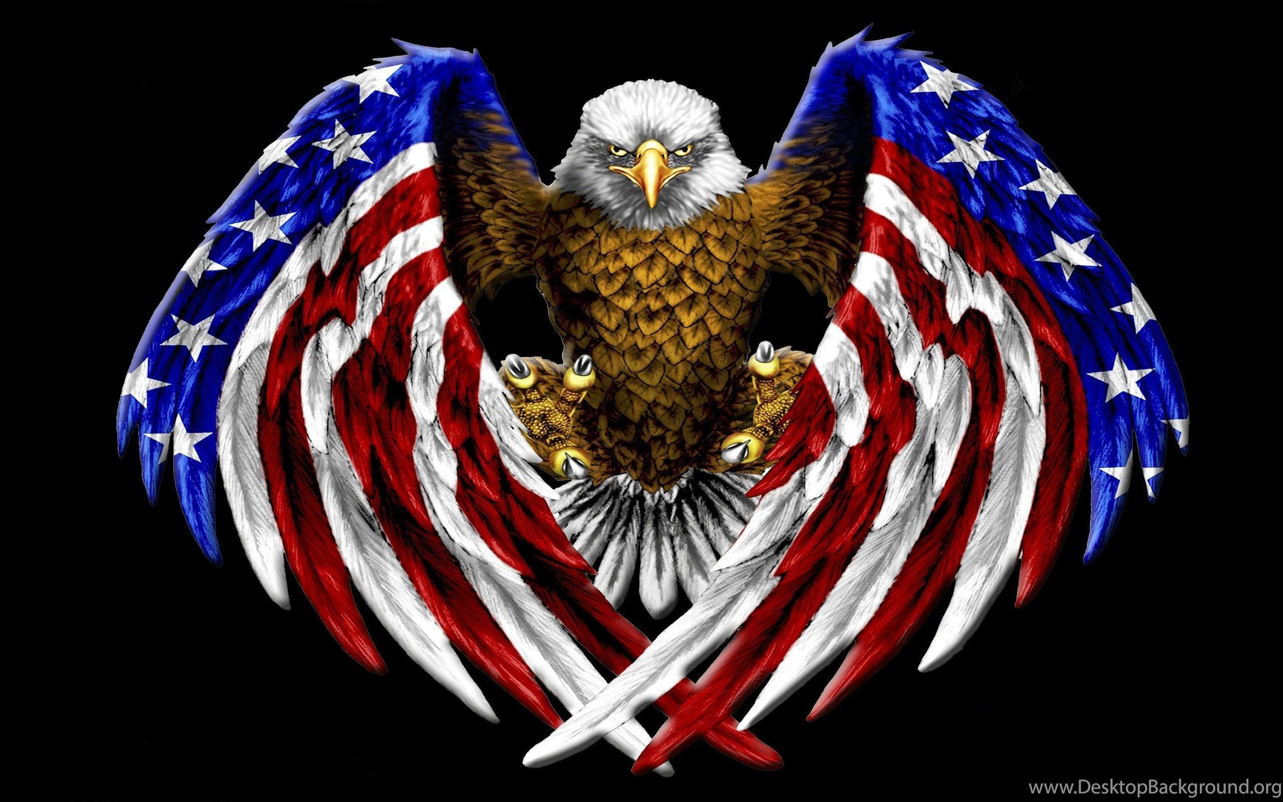 Patriotic Bald Eagle Wallpaper 66 Images