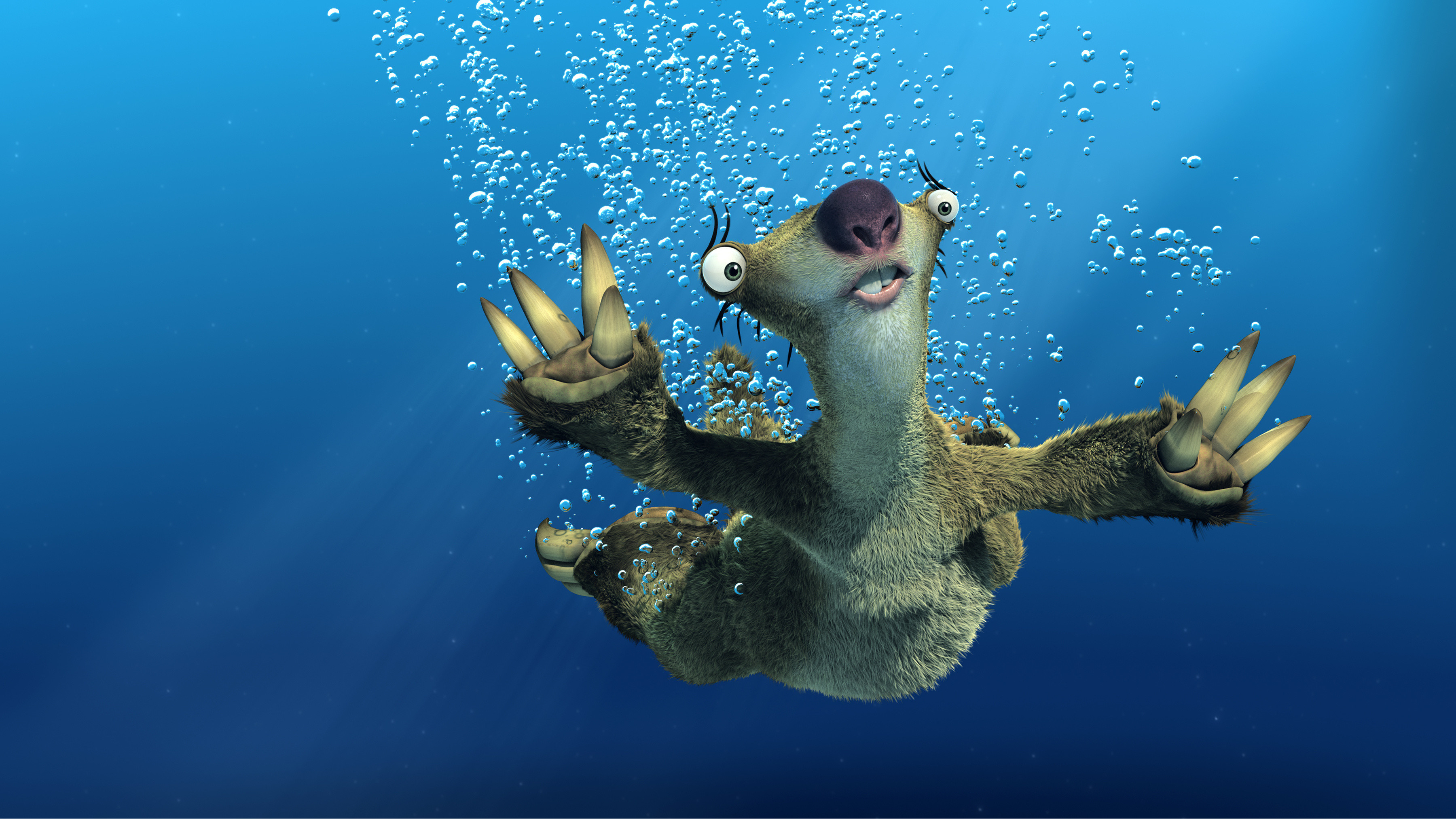 3600x2026 Video Game - Ice Age Sid (Ice Age) Wallpaper