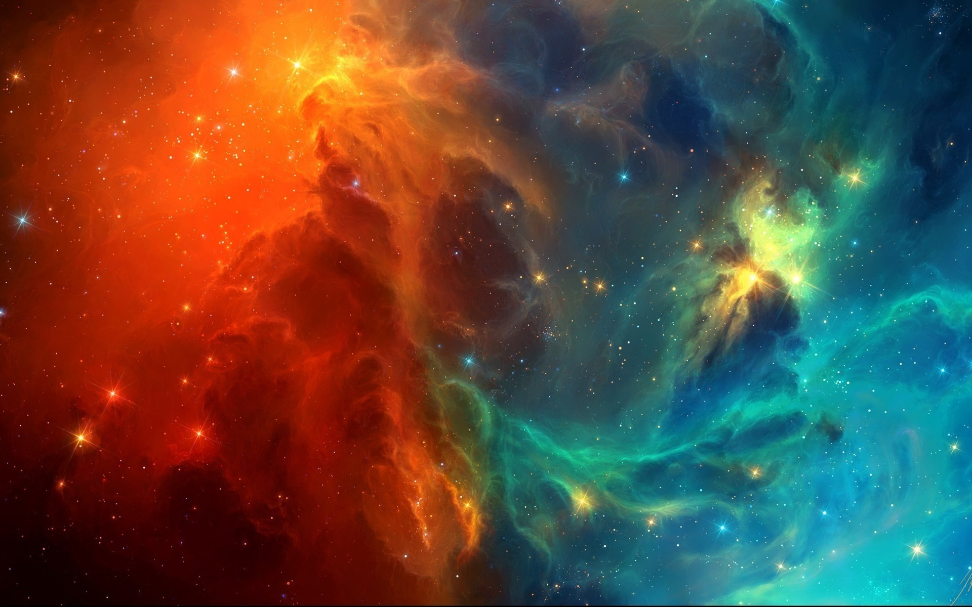 1920x1080 Space Cat Wallpapers