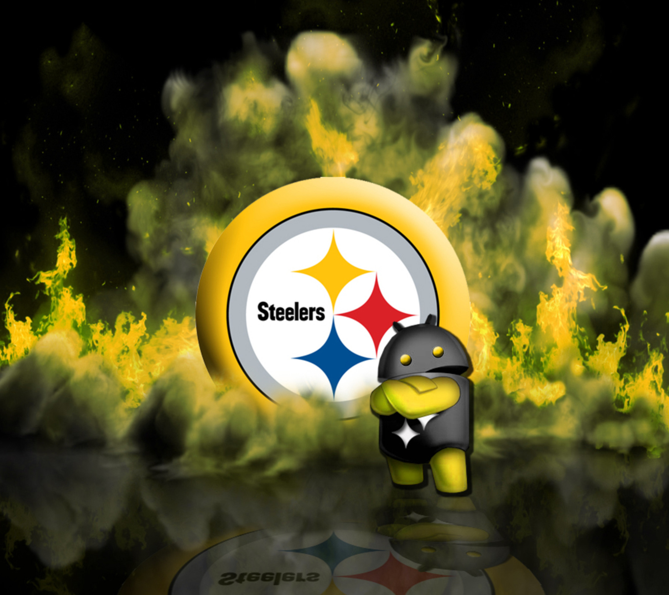Steelers christmas wallpaper 55 images - Steelers background ...