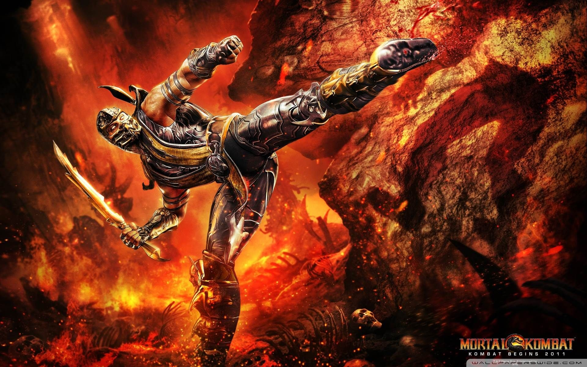 1920x1200 Mortal Kombat Logo Wallpapers HD Wallpapers 1920×1200 Imagenes De Mortal  Kombat | Adorable Wallpapers