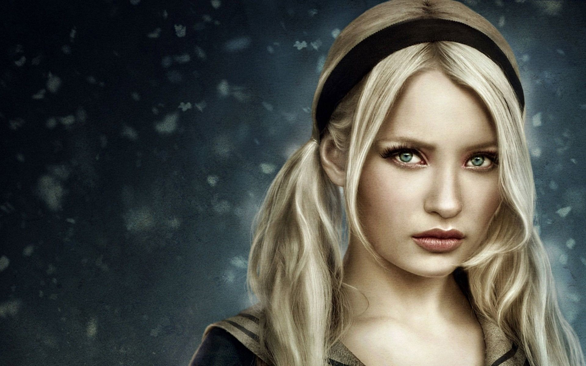 1920x1200 Emily Browning in Sucker Punch wallpapers Wallpapers) – Art Wallpapers