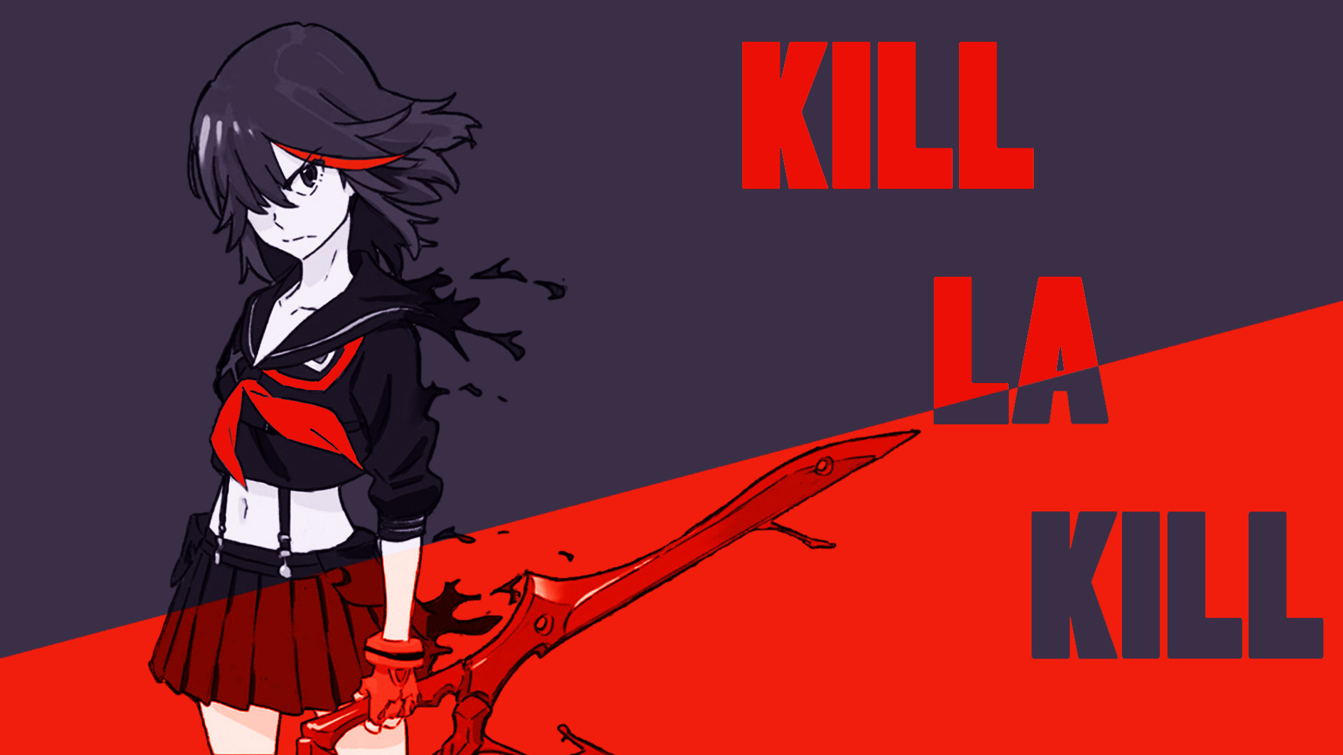 Kill La Kill Wallpaper 1366x768 62 Images