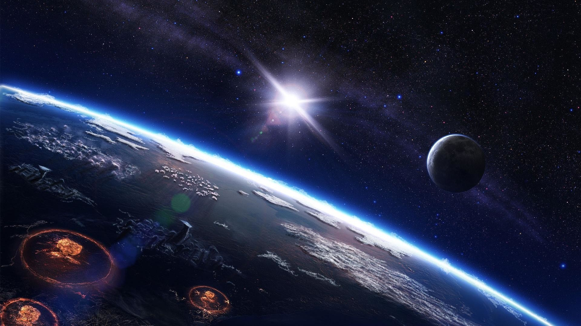 1920x1200 Mars Attacks Sci Fi Alien