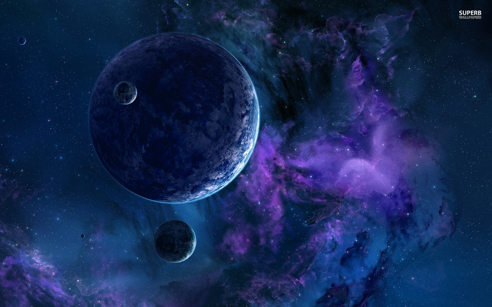 Hd Purple Space Wallpaper 65 Images