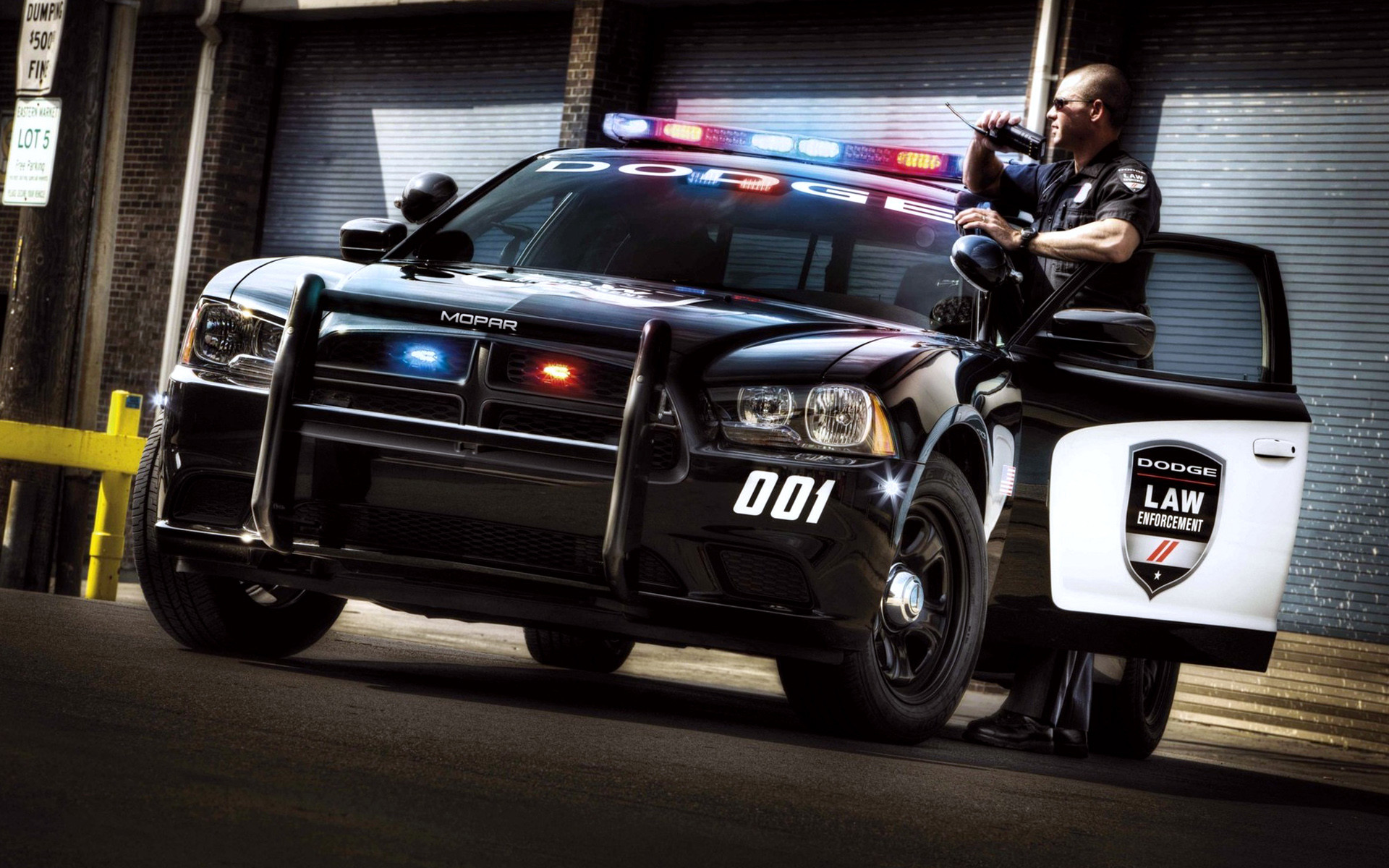 1920x1200 Category : Cars Wallpapers » Cool Police Car Action - px