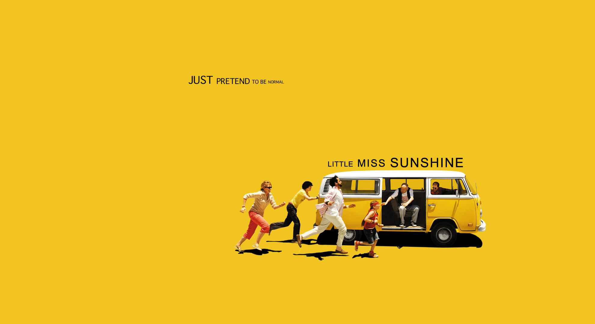 1980x1080 Movie - Little Miss Sunshine Humor Funny Cute Yellow Wallpaper