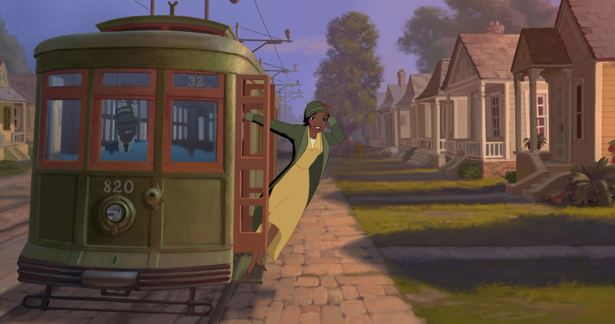2048x1080 Tiana in Disney's Princess and the Frog wallpaper - Click picture for high  resolution HD wallpaper